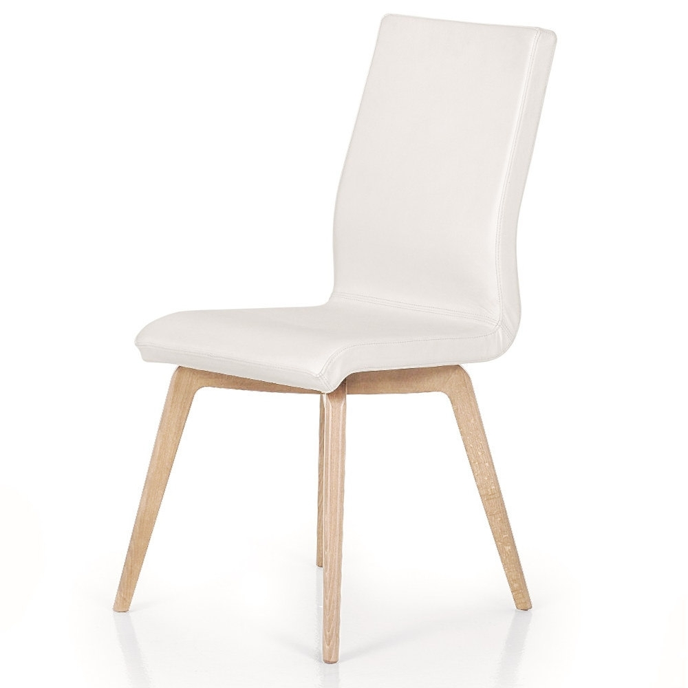 Trento Faux Leather Dining Chair Within Most Up To Date Ivory Leather Dining Chairs (View 22 of 25)