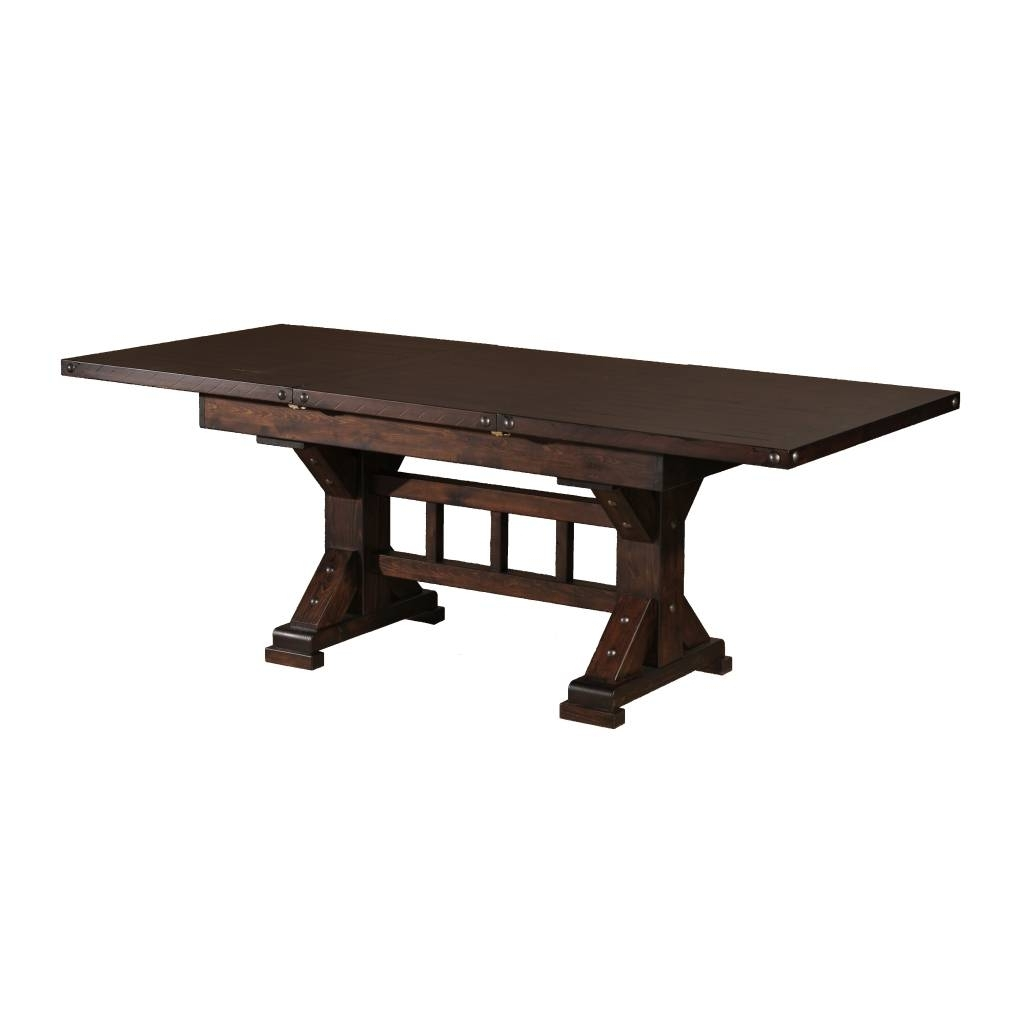 Trestle Extension Dining Table – Dining Tables Ideas Regarding Most Up To Date Valencia 72 Inch Extension Trestle Dining Tables (View 12 of 25)