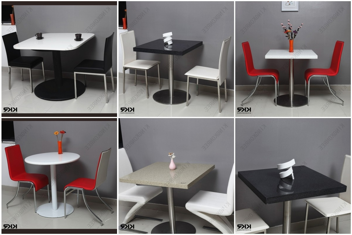 Two Seat Dining Tables In Most Popular Best Price Dining Table Chair / Two Seater Table And Chair Set (View 17 of 25)