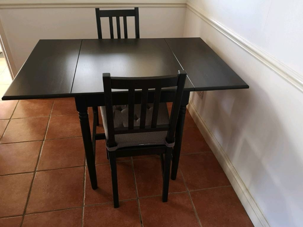 Two Seat Dining Tables Regarding Well Liked 4 Seater Dining Table And Two Chairs (View 21 of 25)