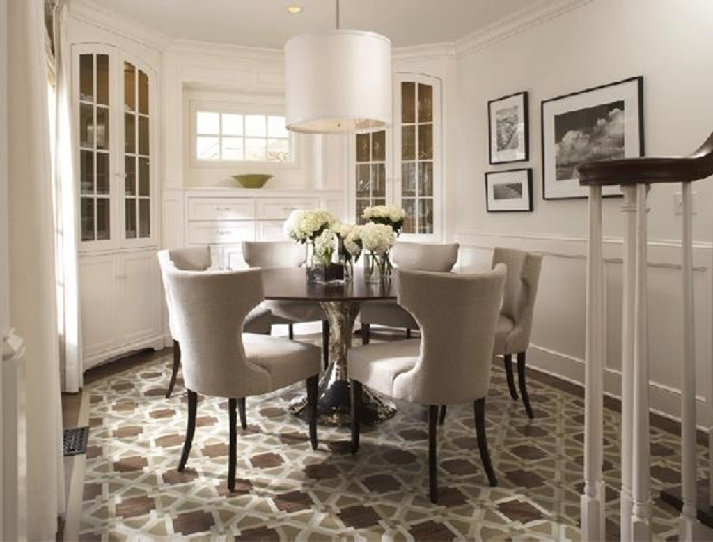 Types Of Dining Table Sets – Home Decor Ideas With Fashionable Small Round Dining Table With 4 Chairs (View 21 of 25)