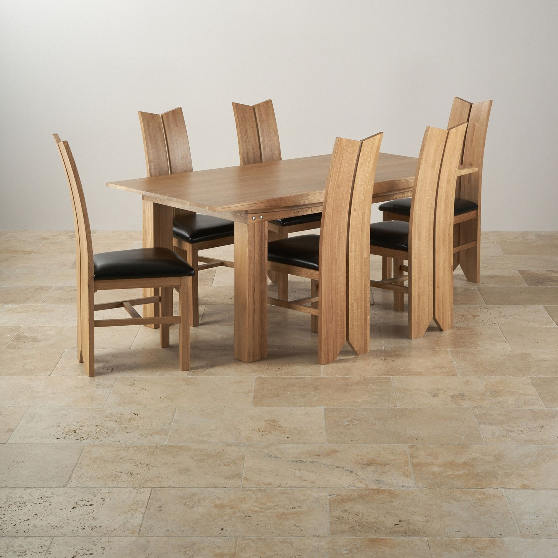 Unbelievable Contemporary Solid Oak Dining Table Chris Colwell For Most Up To Date Tokyo Dining Tables (View 24 of 25)