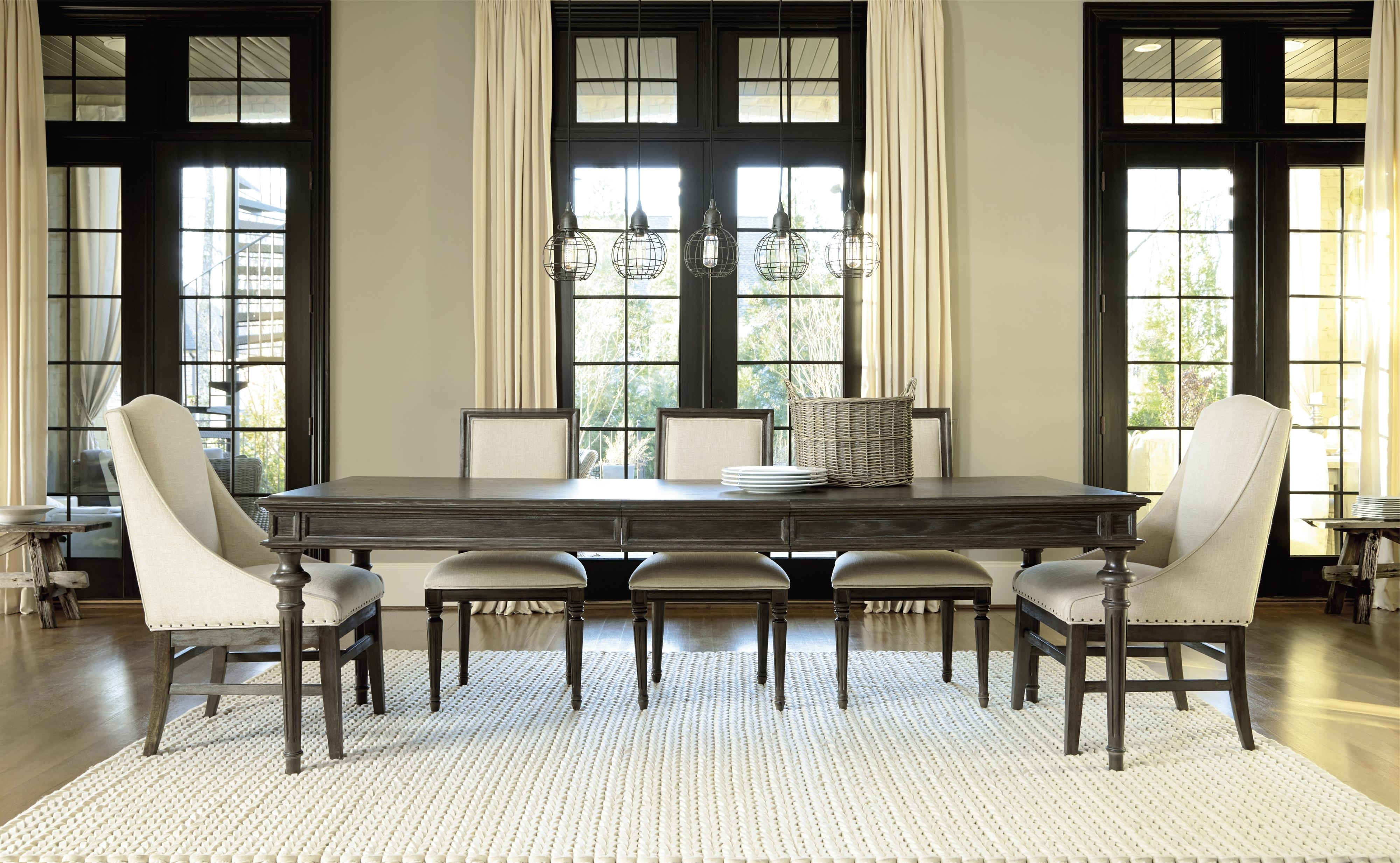 Universal Curated Chelsea Kitchen Table With Trestle Base (View 16 of 25)