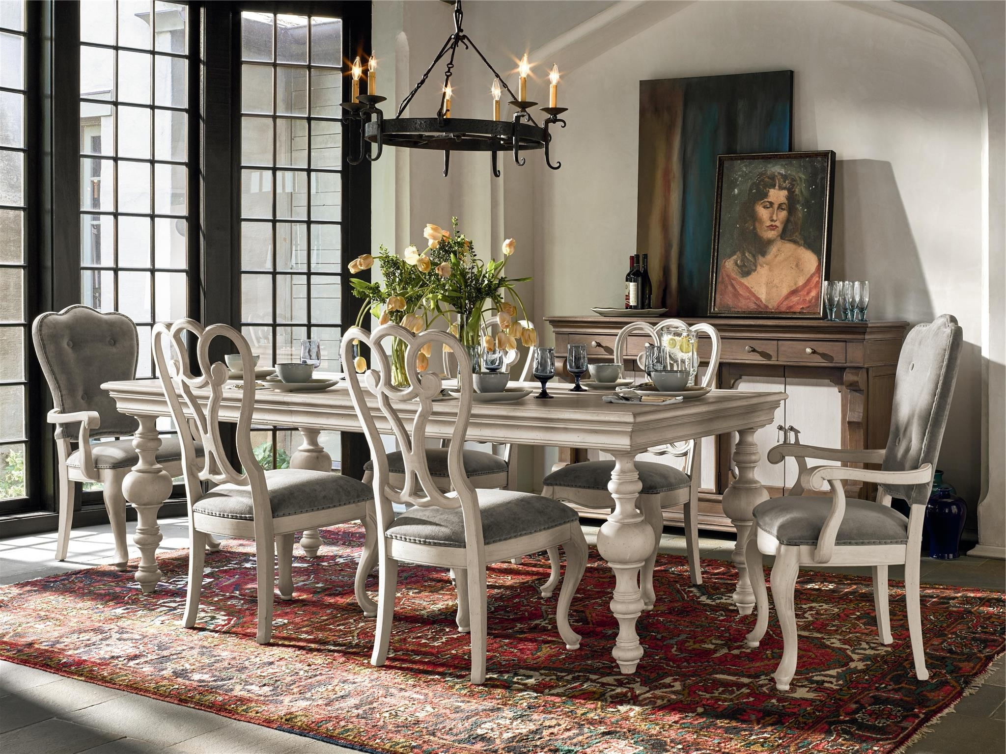Universal Dining Tables intended for Recent Universal Furniture