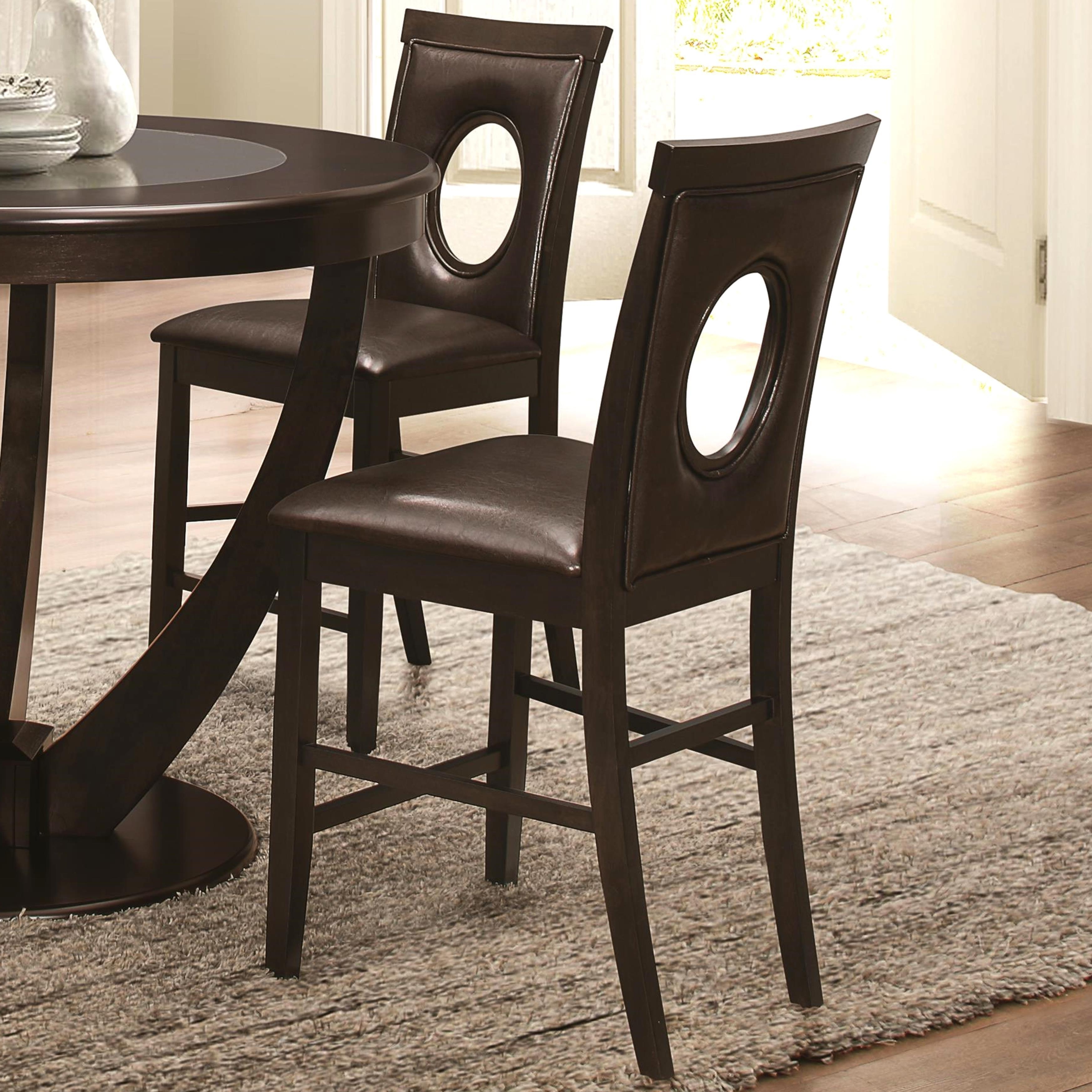 Valencia 5 Piece Counter Sets With Counterstool for Current Shop Valencia Casual 5-Piece Counter Height Dininig Set With Black