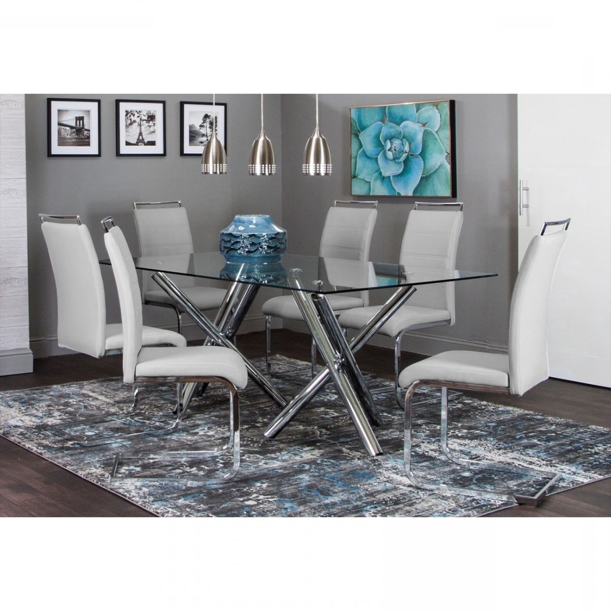 Valencia 5 Piece Counter Sets With Counterstool With Regard To Favorite Mantis 5 Pc Dining Room (View 25 of 25)