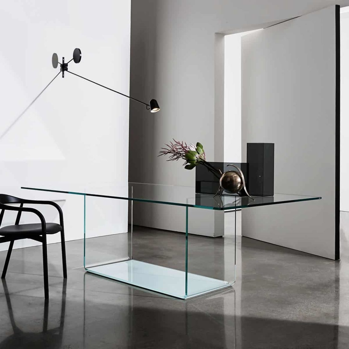 Valencia-Curved-Glass-Table-2 - Klarity - Glass Furniture with Latest Curved Glass Dining Tables