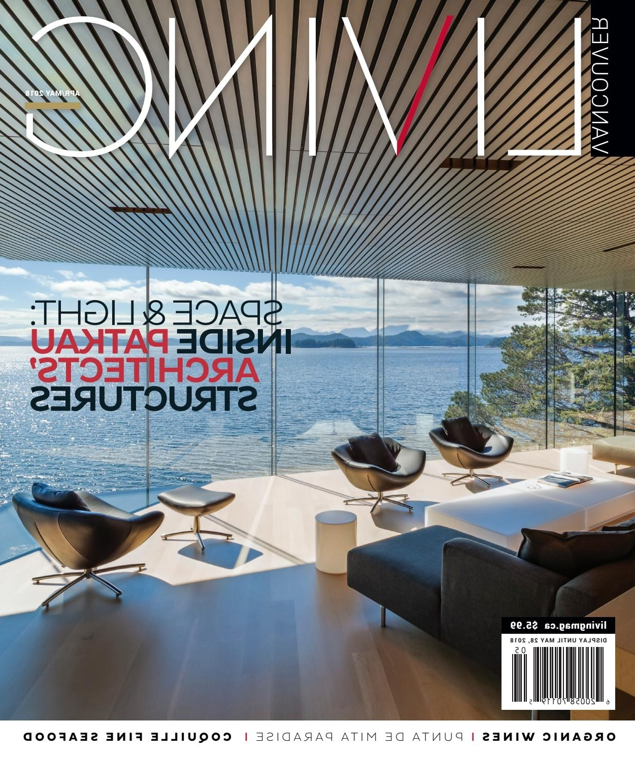 Vancouver Living April/may 2018Nsn Features – Issuu Pertaining To 2018 Wyatt 6 Piece Dining Sets With Celler Teal Chairs (View 19 of 25)