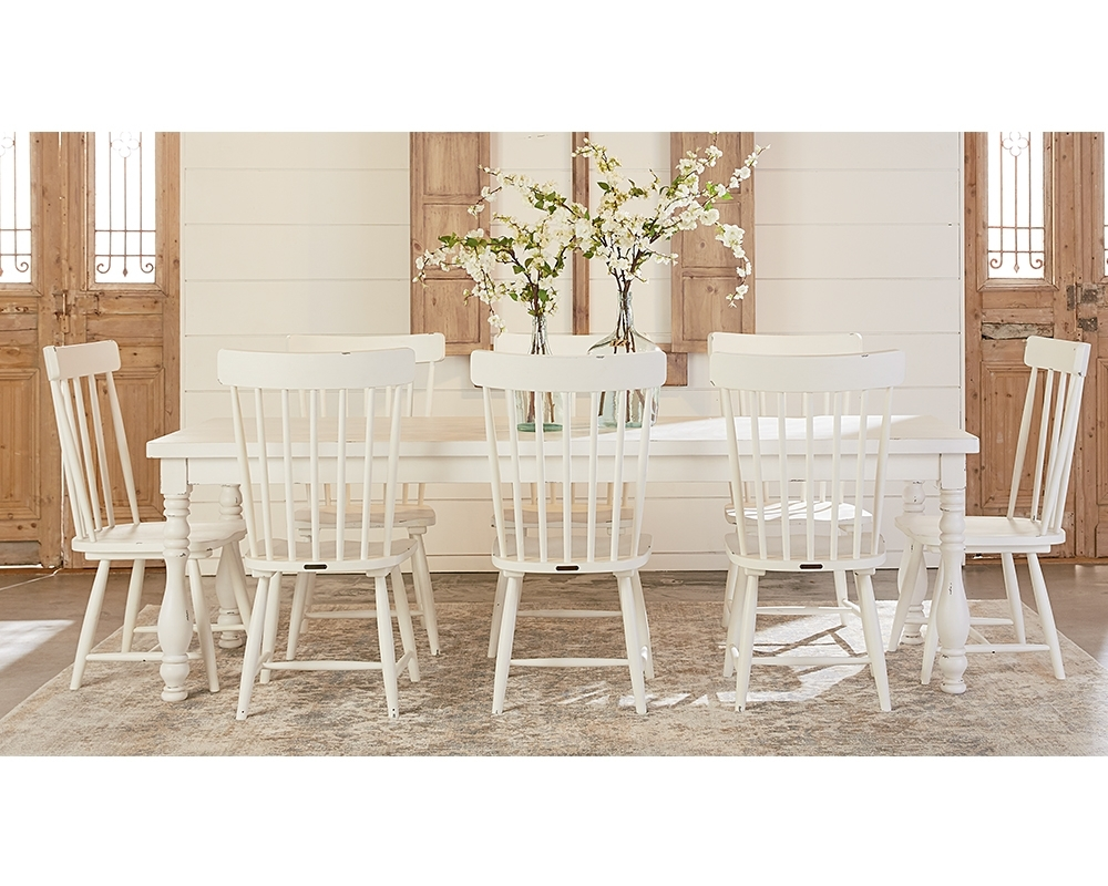 Vase Turned Dining Table – Magnolia Home intended for Most Recently Released Magnolia Home Keeping Dining Tables