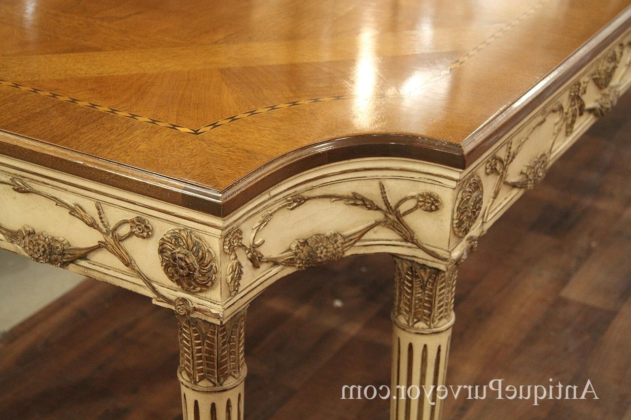 Victor Dining Tables In Most Recently Released E.j (View 21 of 25)