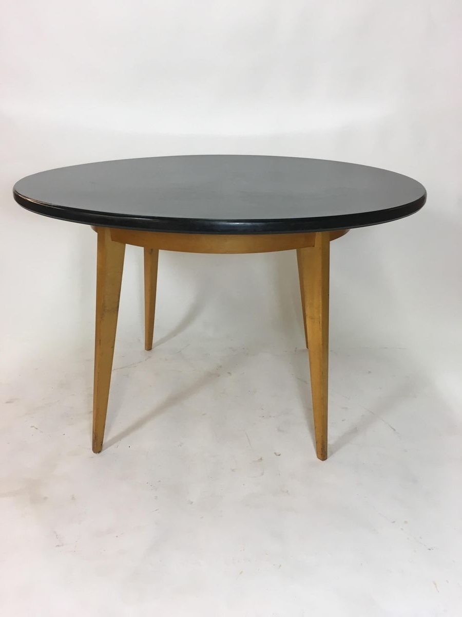 Vintage Birch Dining Tablecees Braakman For Pastoe, 1950S For in Newest Birch Dining Tables