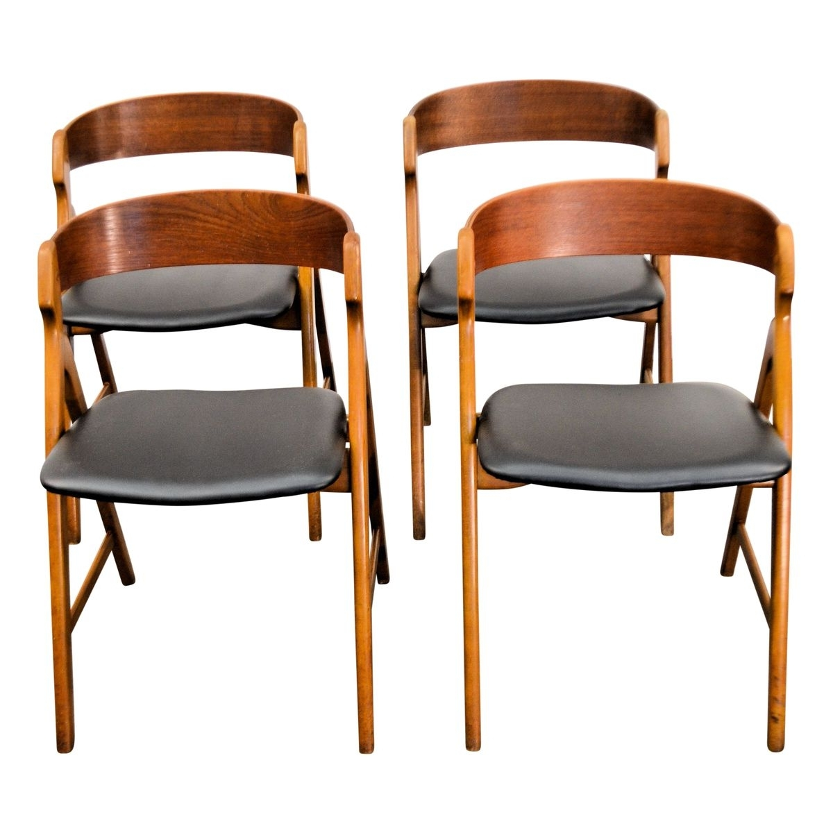 Vintage Wooden Dining Chairshenning Kjaernulf For Boltinge Støle intended for Most Recently Released Wooden Dining Sets