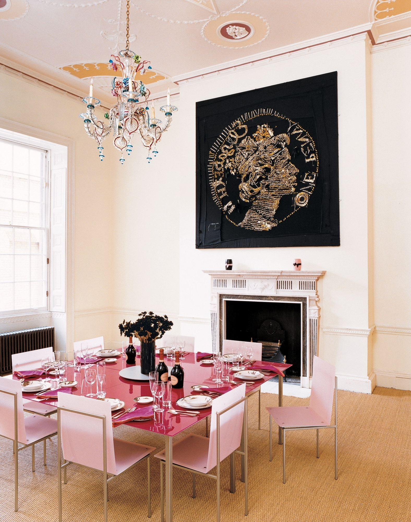 Vogue Dining Tables For Current A Look At 30 Dining Rooms In Vogue – Vogue (View 16 of 25)