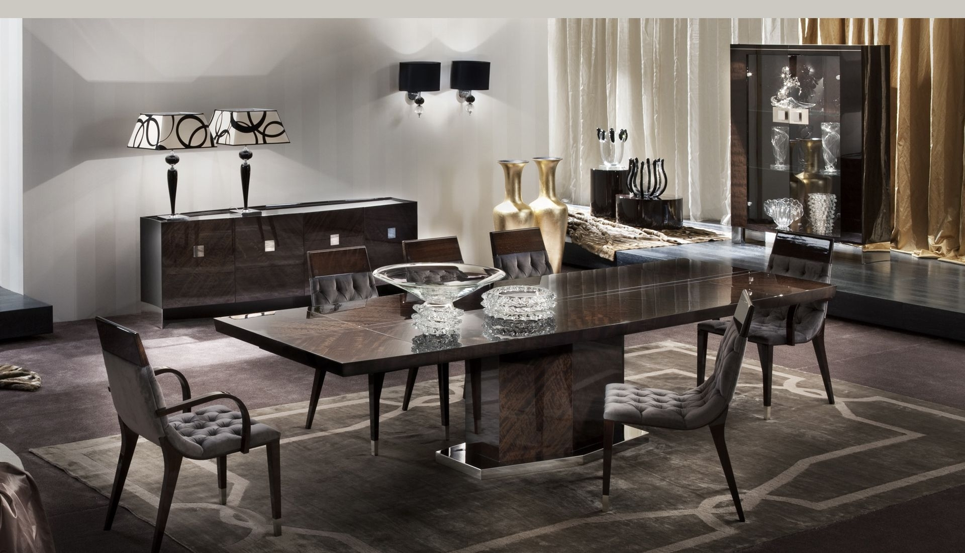 Vogue Dining Tables For Most Popular Dining Room Italian Design (View 18 of 25)