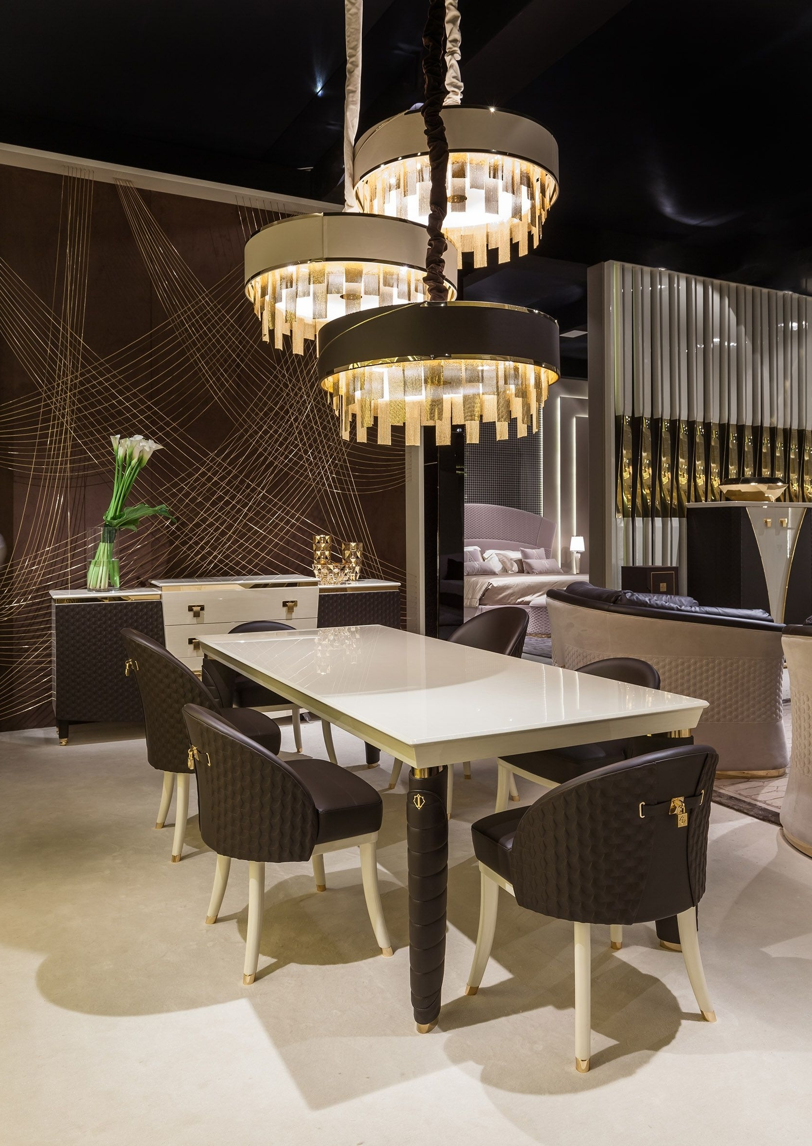 Vogue Dining Tables with Best and Newest Turri - Luxury Italian Furniture For Exclusive And Modern Design