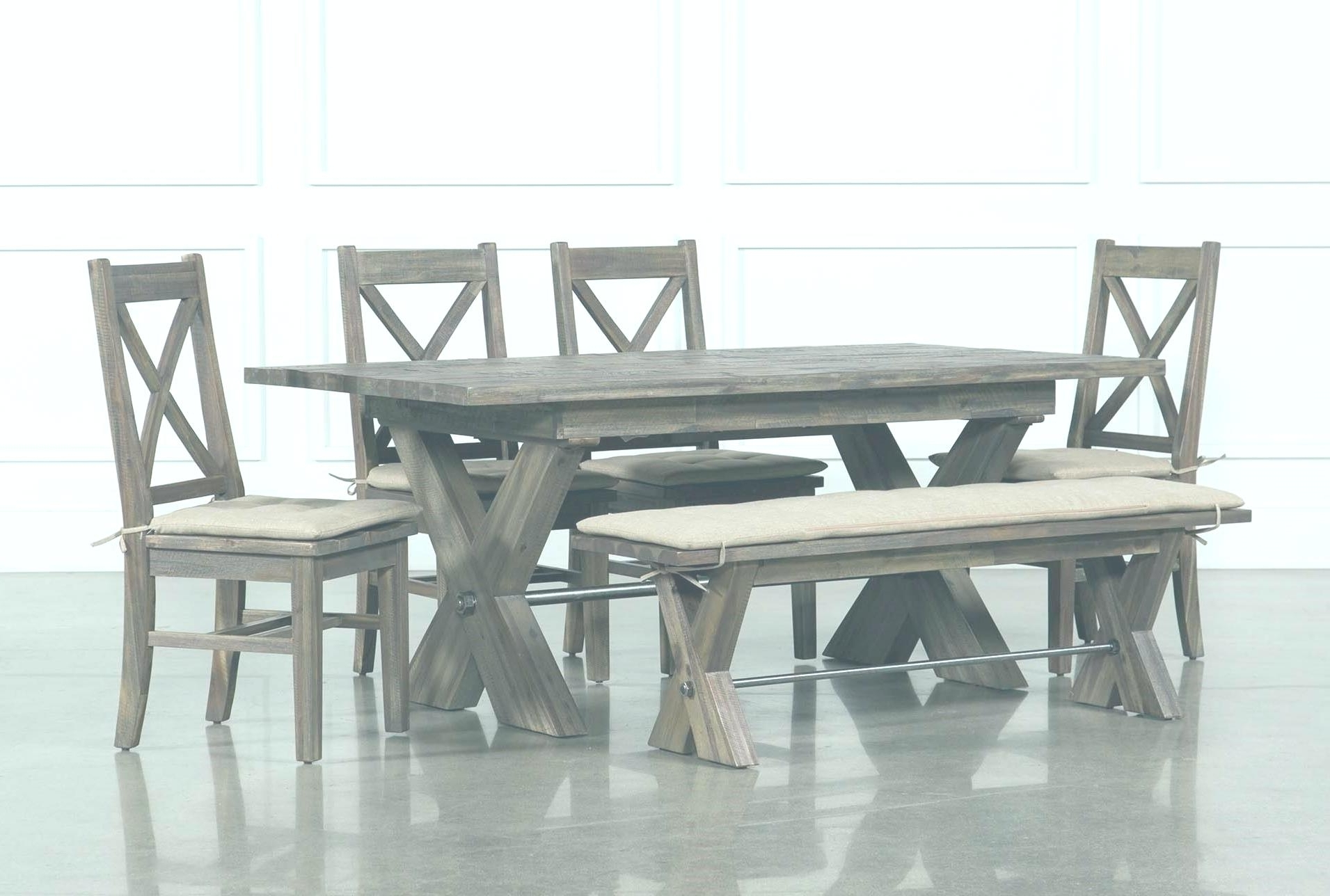 Walden 9 Piece Extension Dining Sets Inside Well Liked Living Spaces Dining Room Tables # (View 18 of 25)