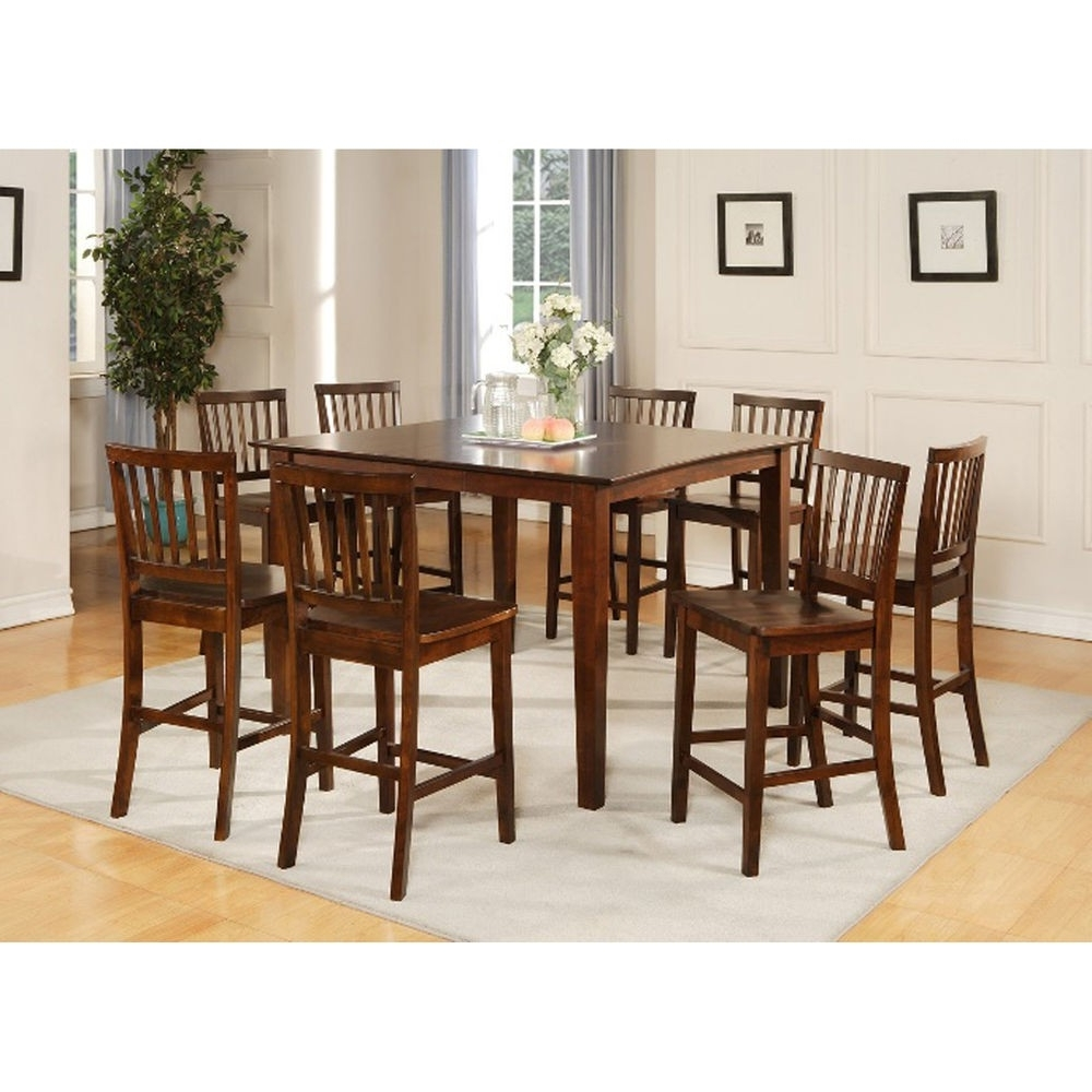 Walden 9 Piece Extension Dining Sets Within Most Recently Released Imágenes De 9 Piece Dining Room Set Wood (View 20 of 25)