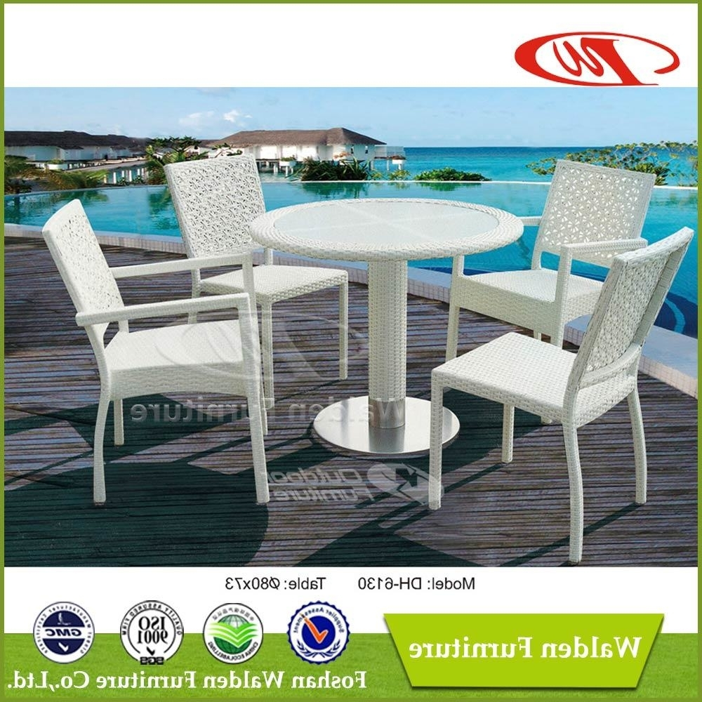Walden Extension Dining Tables With Regard To Trendy China 4 Seating Outdoor Table Garden Chair (Dh 6130) Photos (View 22 of 25)