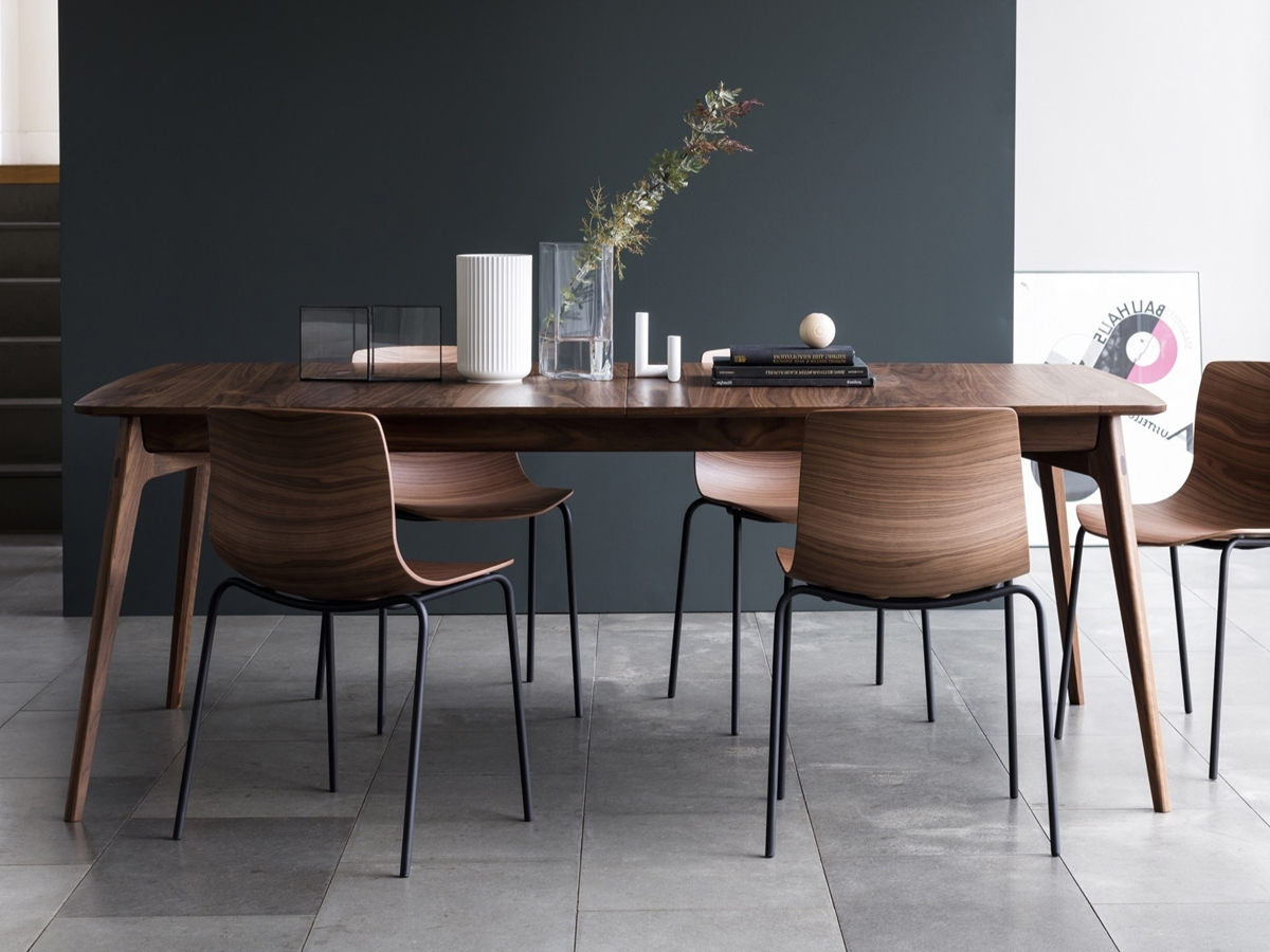 Walnut Dining Tables And Chairs Throughout Widely Used Buy The Case Furniture Dulwich Extending Dining Table At Nest.co (View 6 of 25)