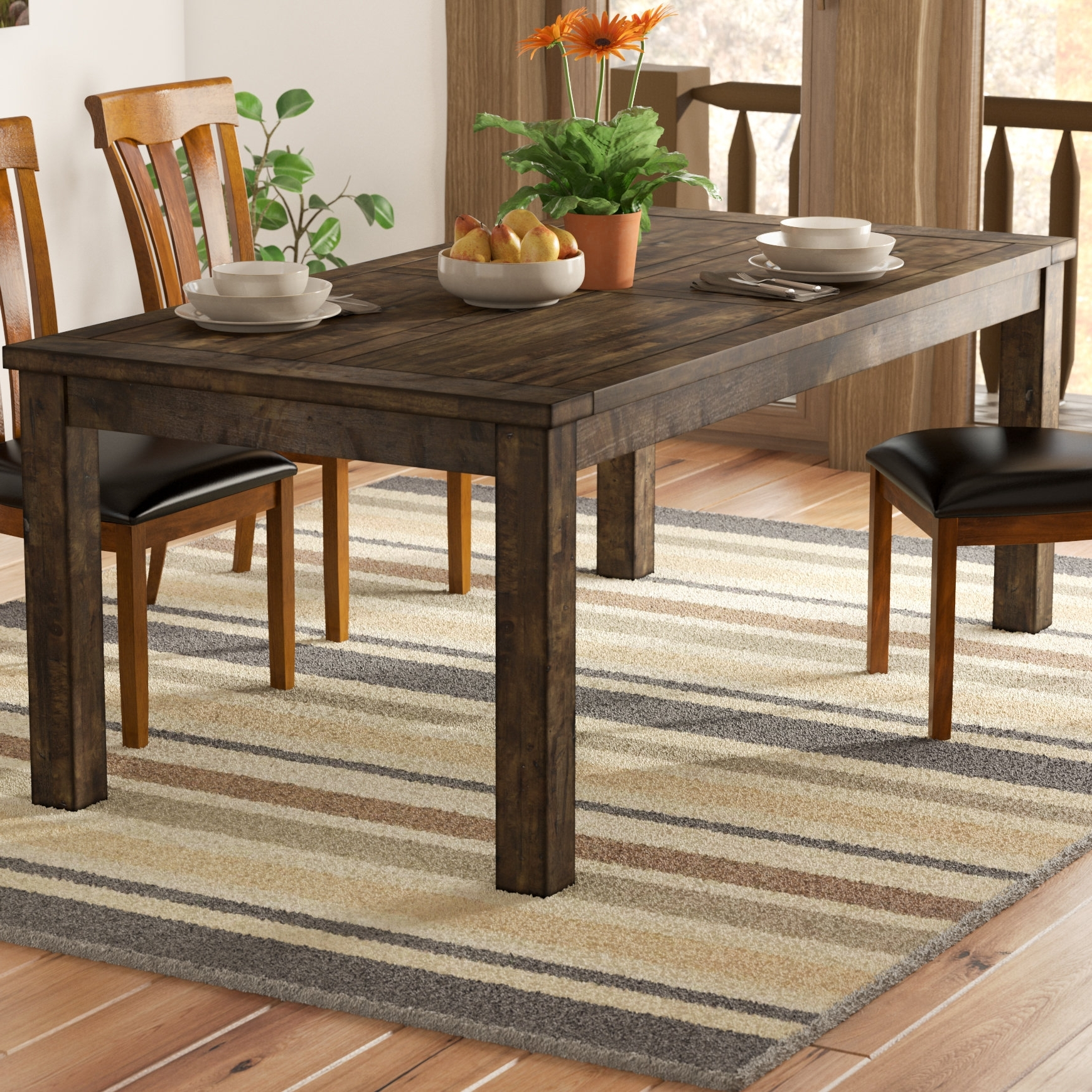 Wayfair For 2017 Kirsten 5 Piece Dining Sets (View 11 of 25)