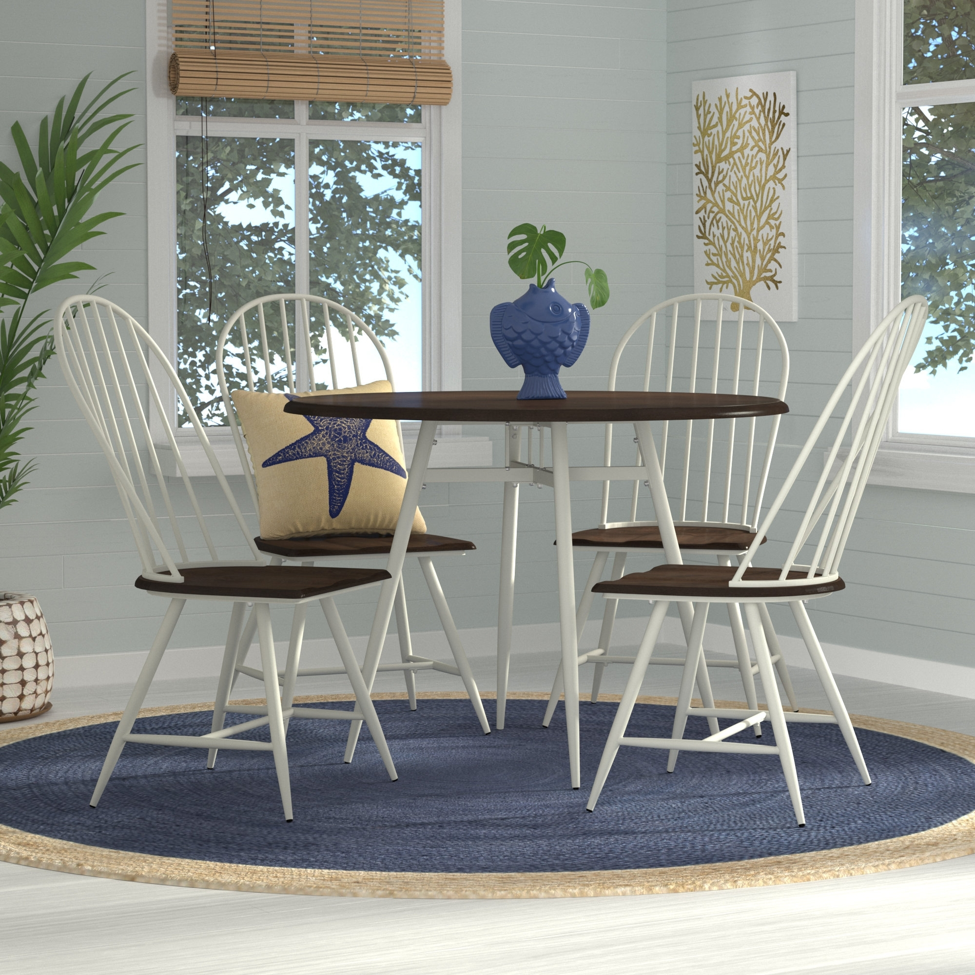 Wayfair For Candice Ii 7 Piece Extension Rectangular Dining Sets With Uph Side Chairs (View 22 of 25)