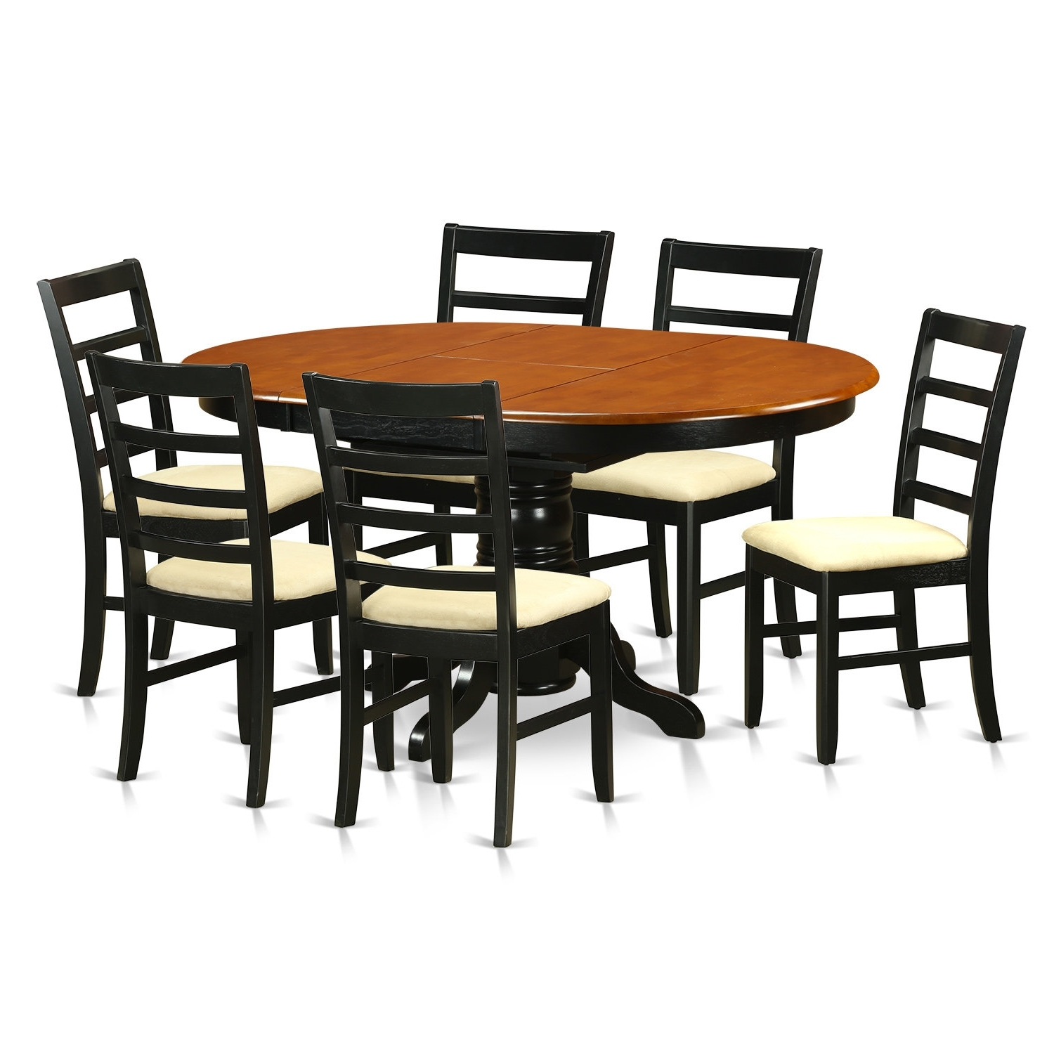 Wayfair For Chandler 7 Piece Extension Dining Sets With Fabric Side Chairs (View 18 of 25)
