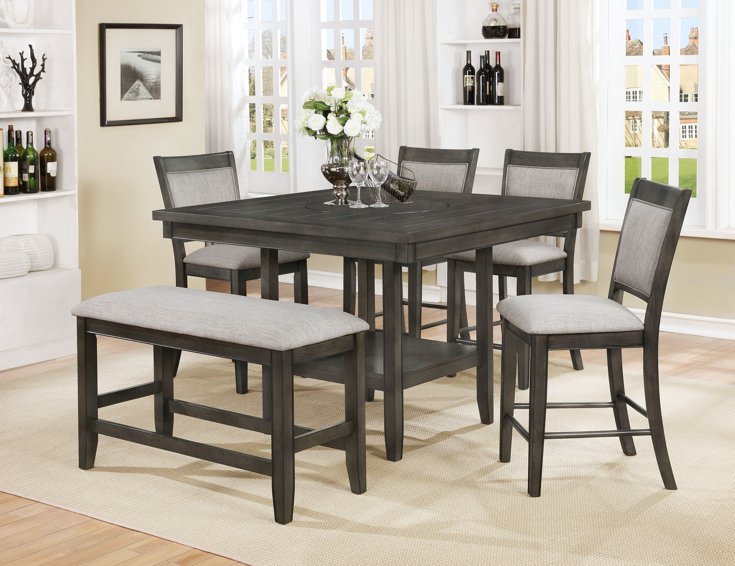 Wayfair In Popular Parquet 7 Piece Dining Sets (View 14 of 25)