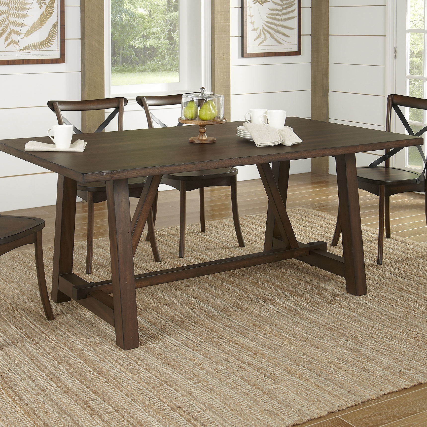 Wayfair Inside Laurent 7 Piece Rectangle Dining Sets With Wood And Host Chairs (View 12 of 25)