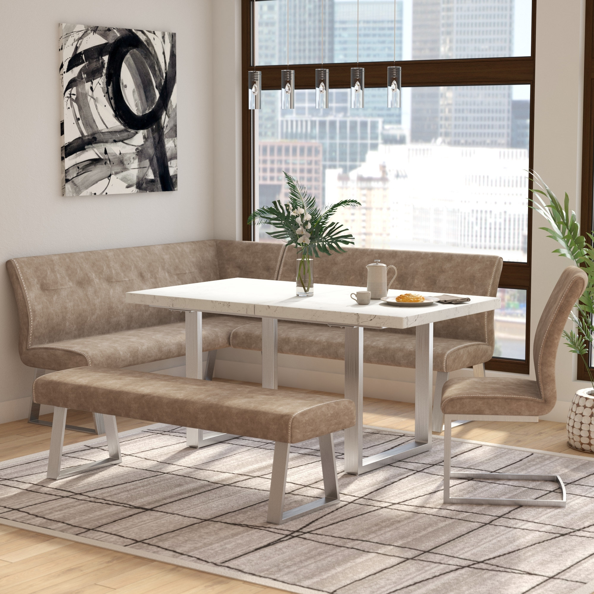 Wayfair Intended For Logan 6 Piece Dining Sets (View 13 of 25)