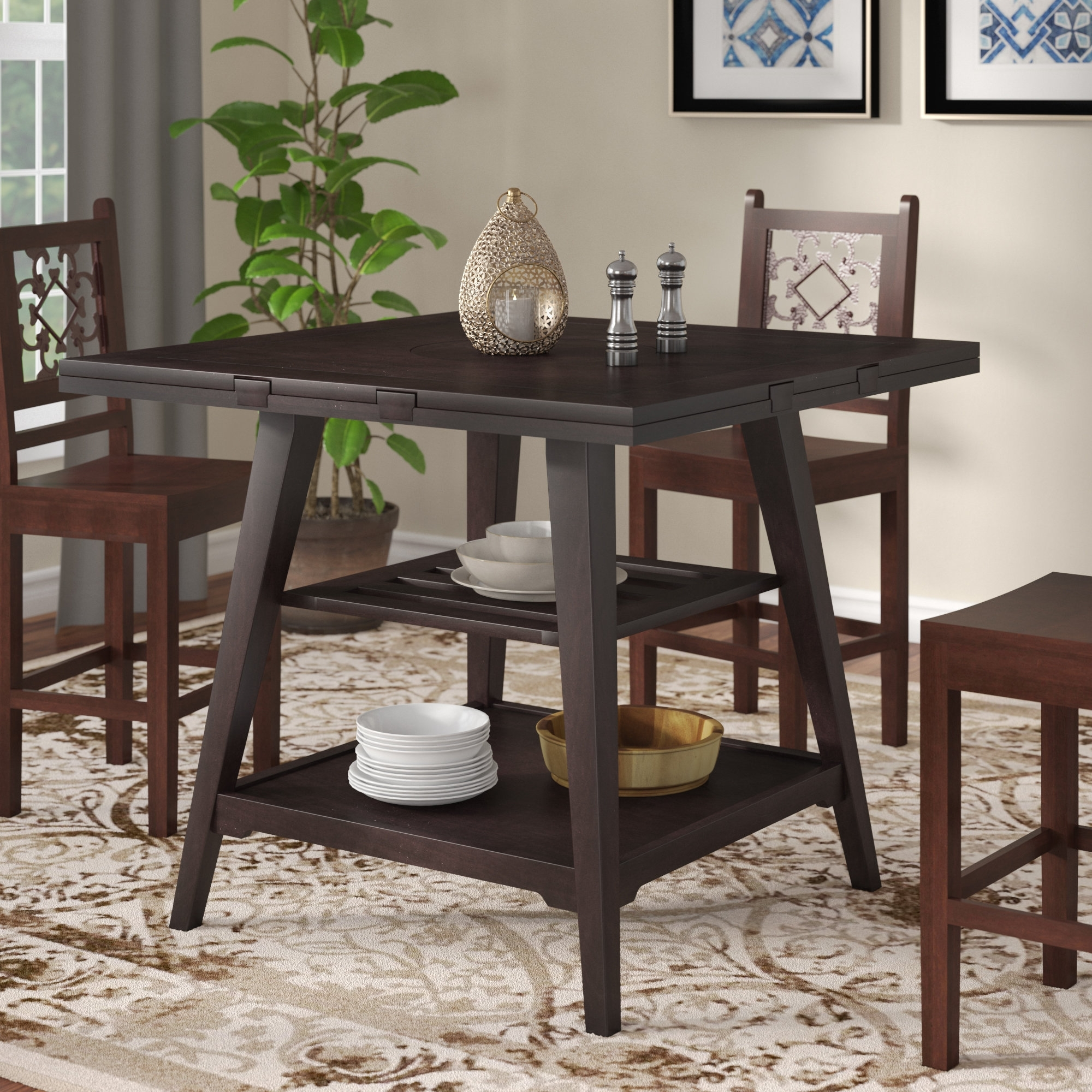 Wayfair Intended For Round Extendable Dining Tables And Chairs (View 17 of 25)