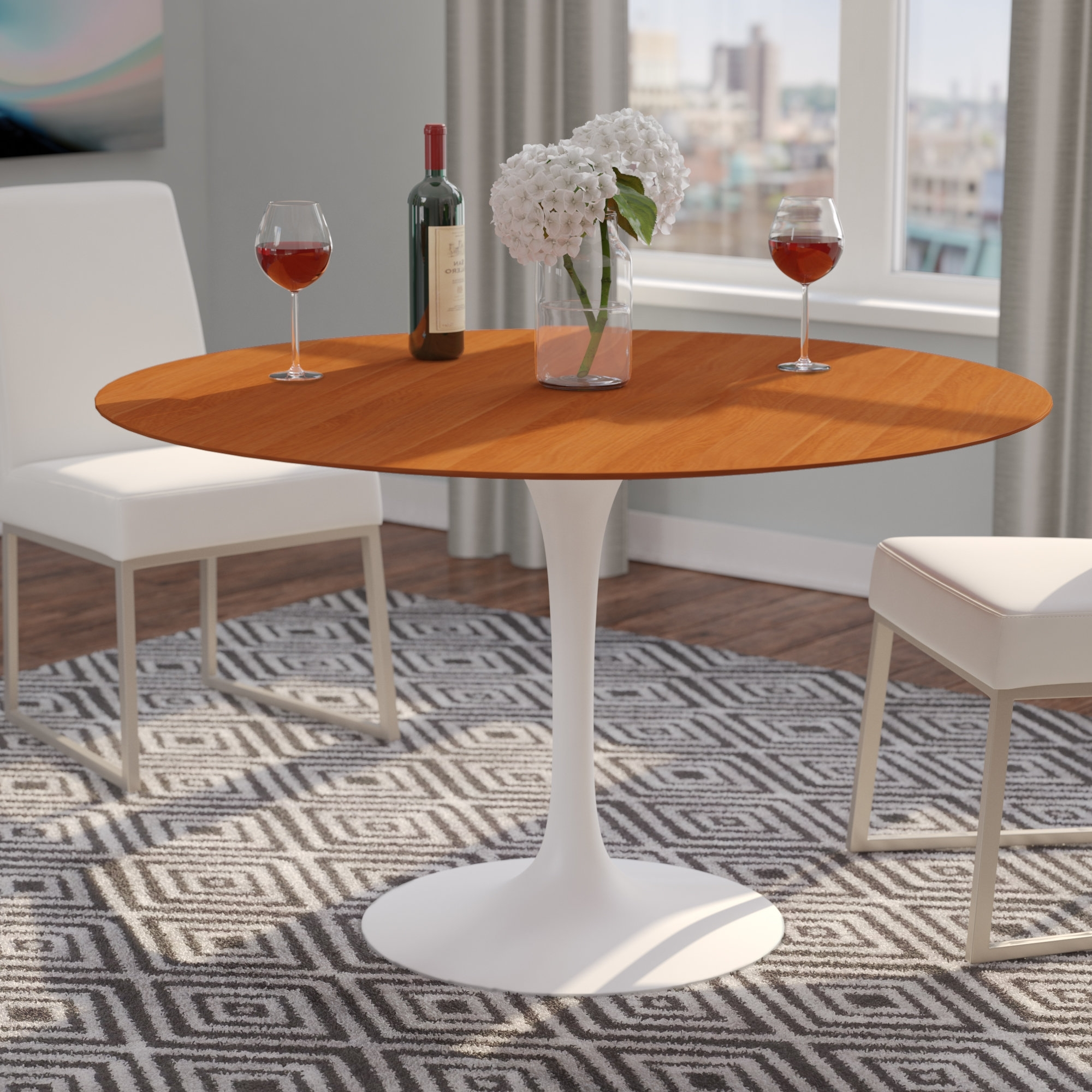 Wayfair Pertaining To Jefferson Extension Round Dining Tables (View 15 of 25)