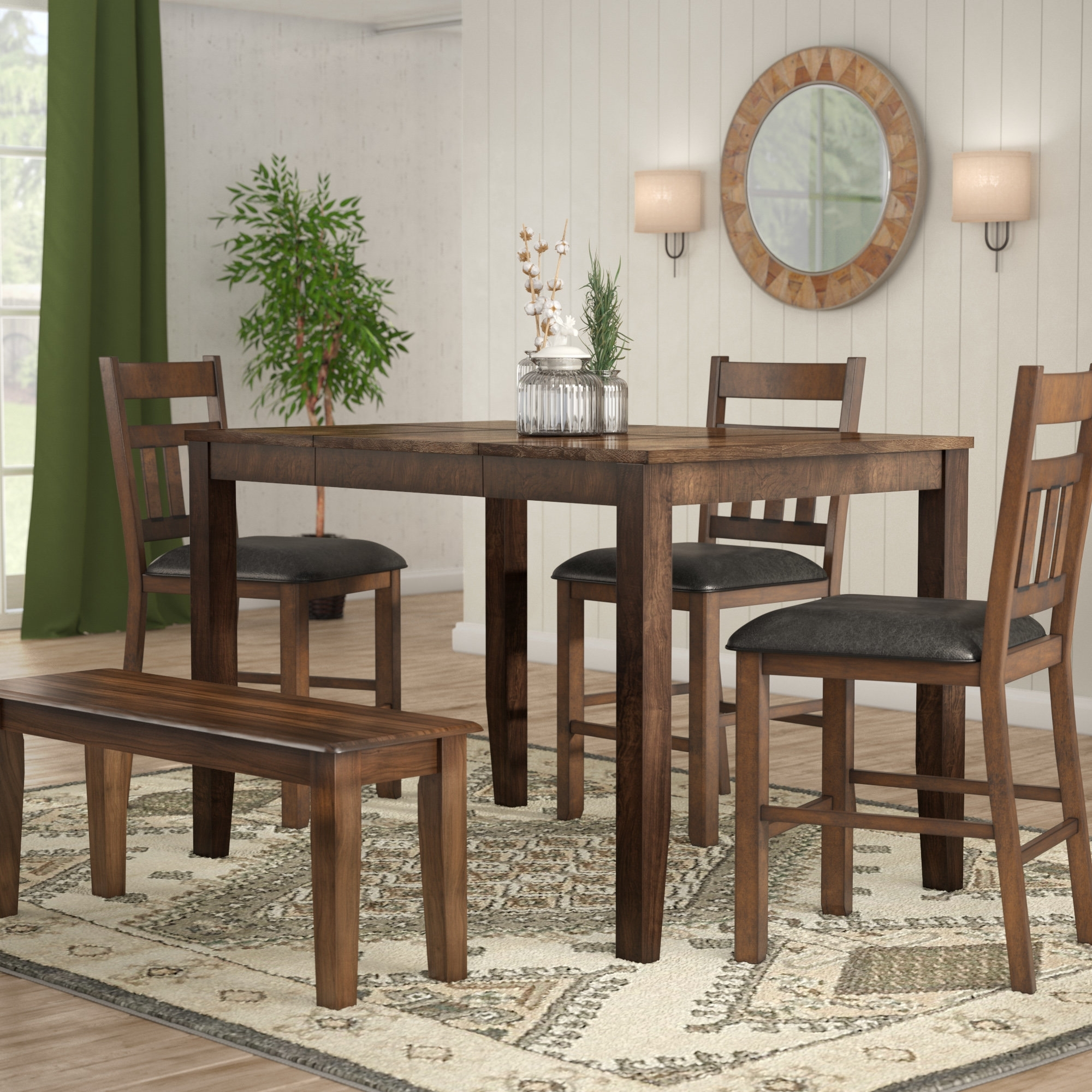 Wayfair Throughout 2018 Square Extendable Dining Tables And Chairs (View 23 of 25)