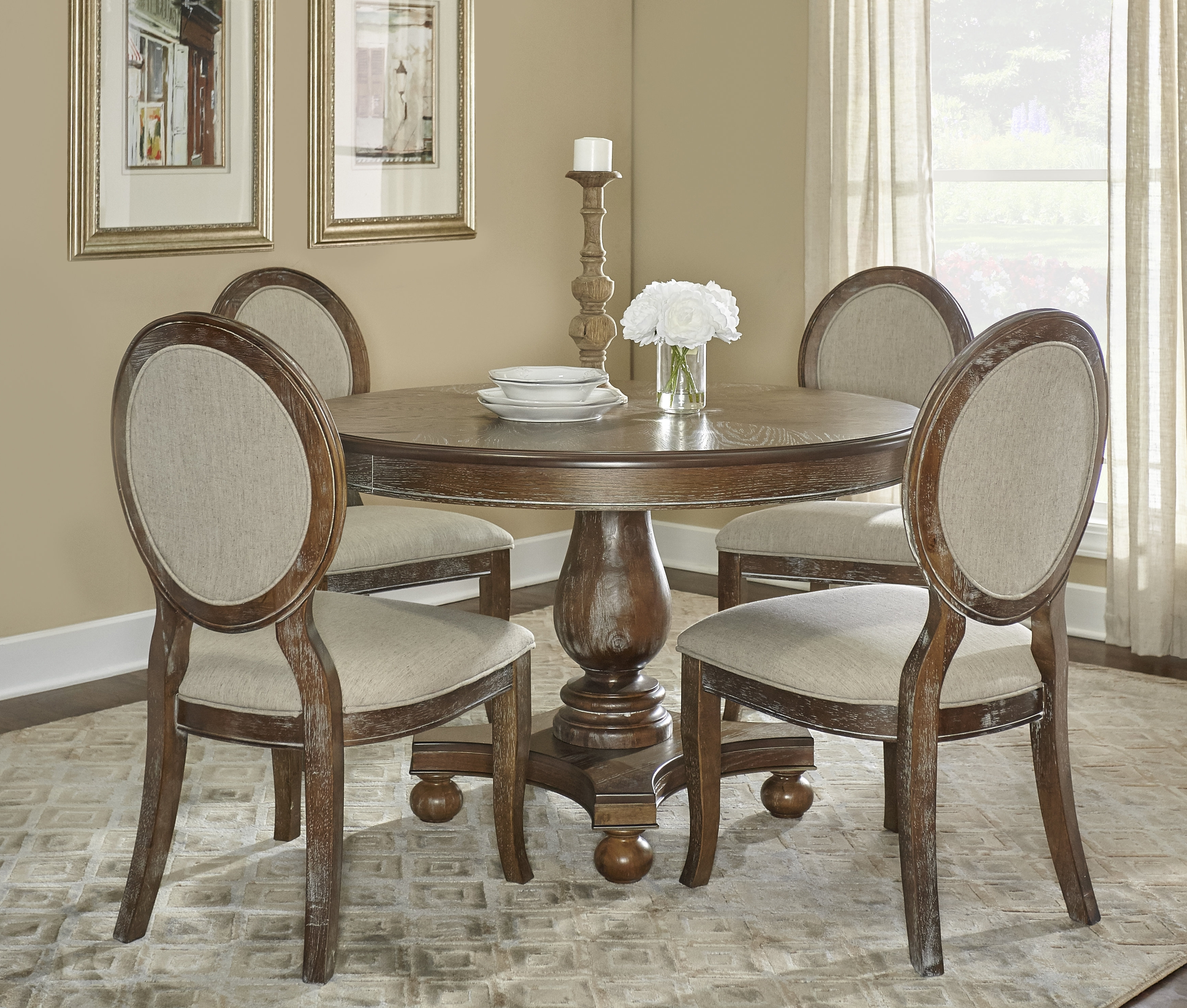 Wayfair Throughout Most Current Caira 7 Piece Rectangular Dining Sets With Upholstered Side Chairs (View 9 of 25)