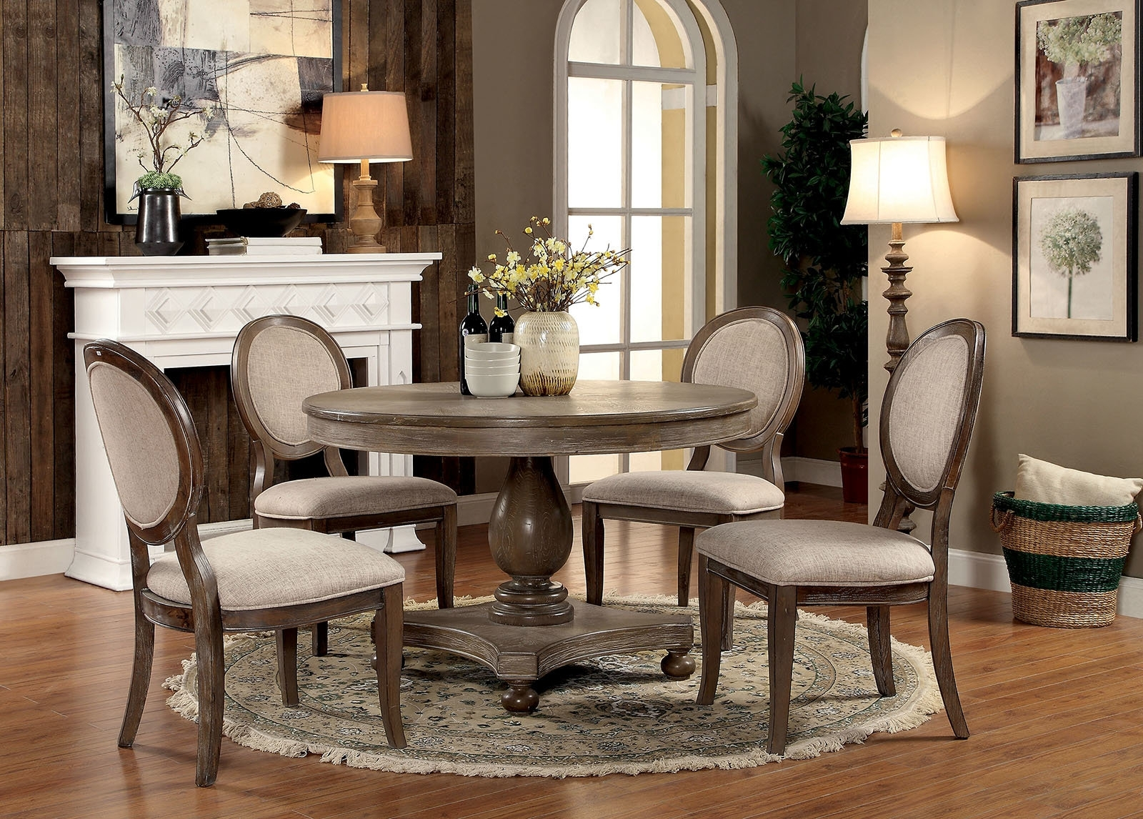 Wayfair With Craftsman 5 Piece Round Dining Sets With Side Chairs (View 8 of 25)