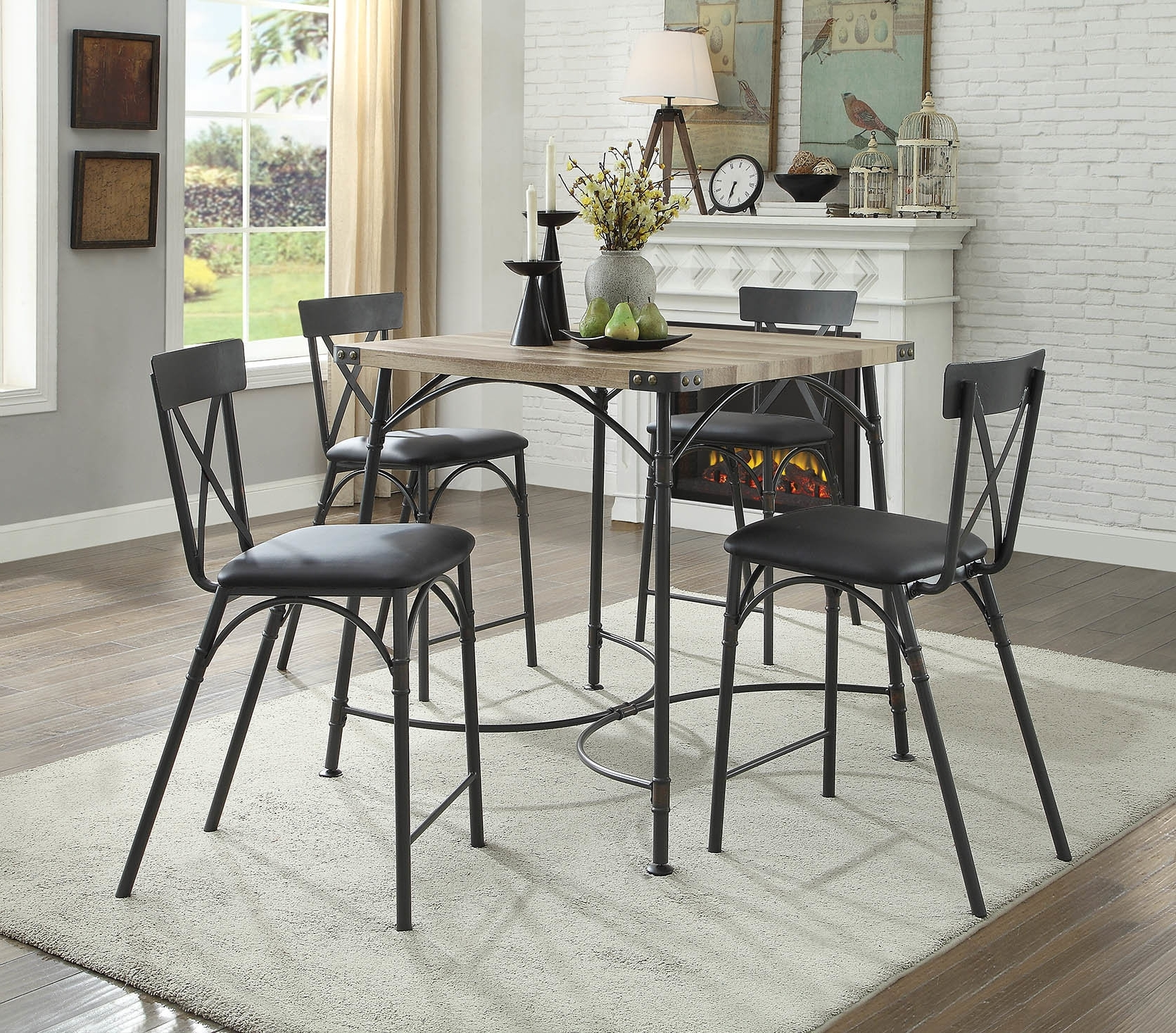 Wayfair With Regard To Caira Black 5 Piece Round Dining Sets With Upholstered Side Chairs (View 6 of 25)