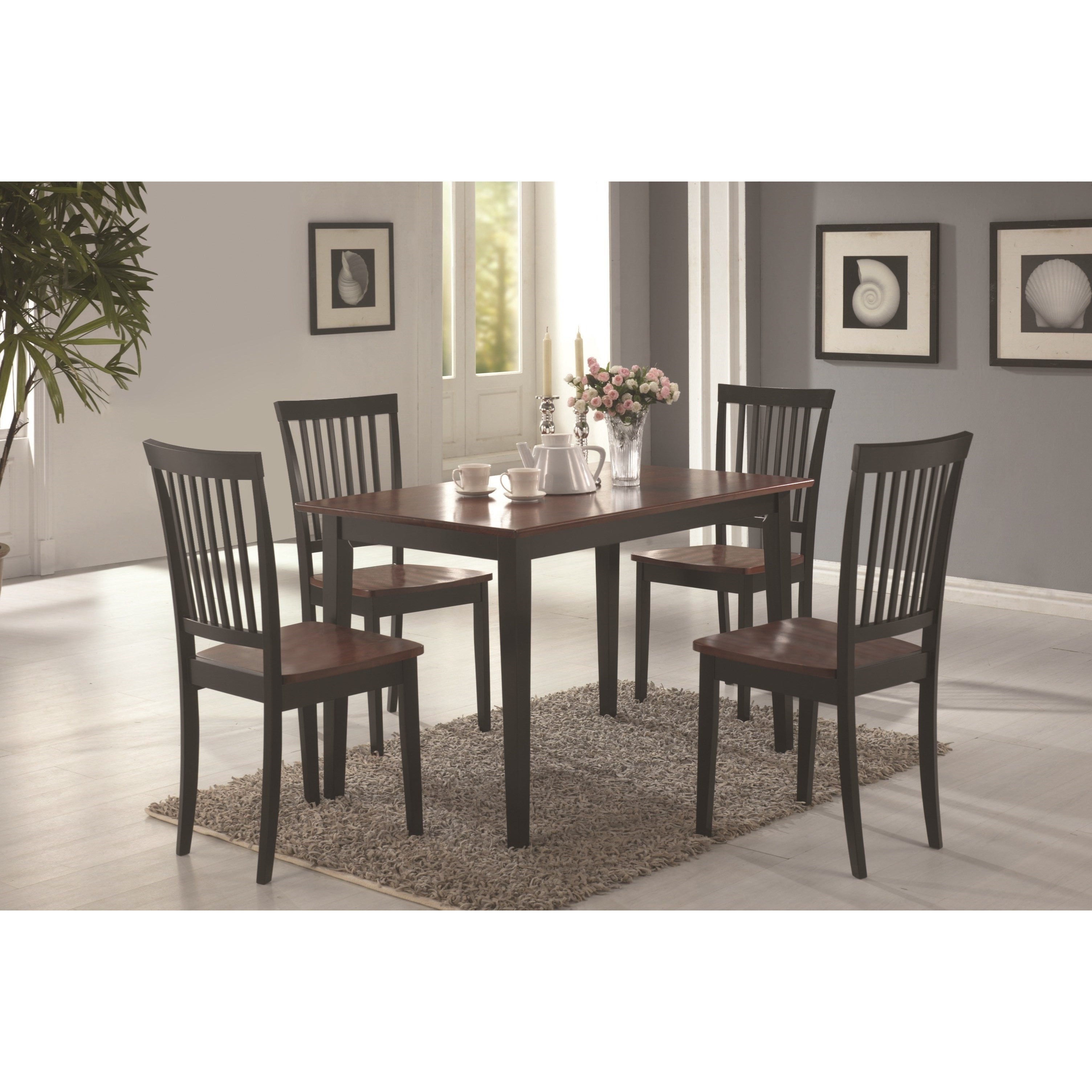 Wayfair With Regard To Most Popular Candice Ii 7 Piece Extension Rectangular Dining Sets With Slat Back Side Chairs (View 9 of 25)