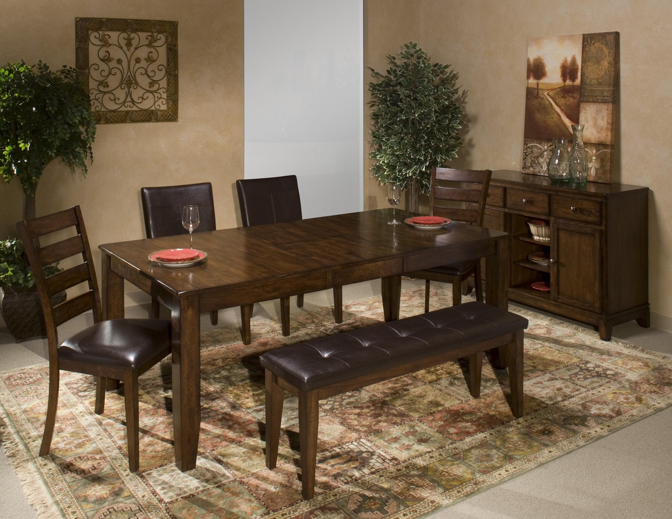 Wayside Furniture For Most Up To Date Market 6 Piece Dining Sets With Host And Side Chairs (View 8 of 25)