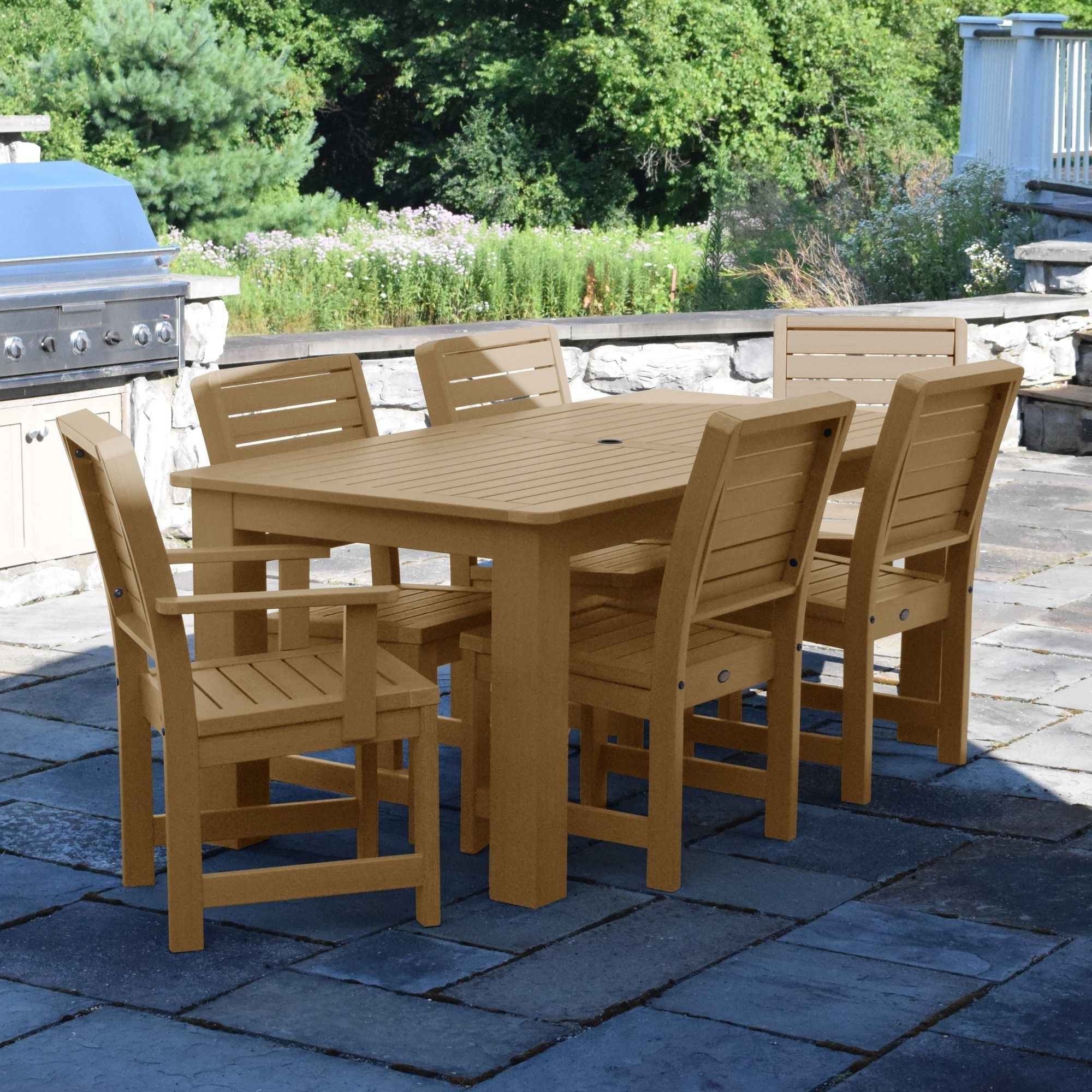 Weatherly 7 Piece Dining Set (View 25 of 25)