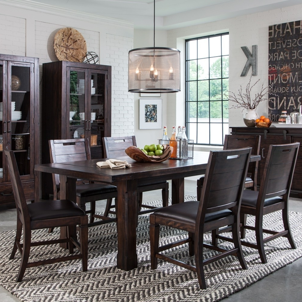 Weaver Ii Dining Tables Pertaining To Popular Pine Hill Wood Rectangular Dining Table In Rustic Pine (View 18 of 25)
