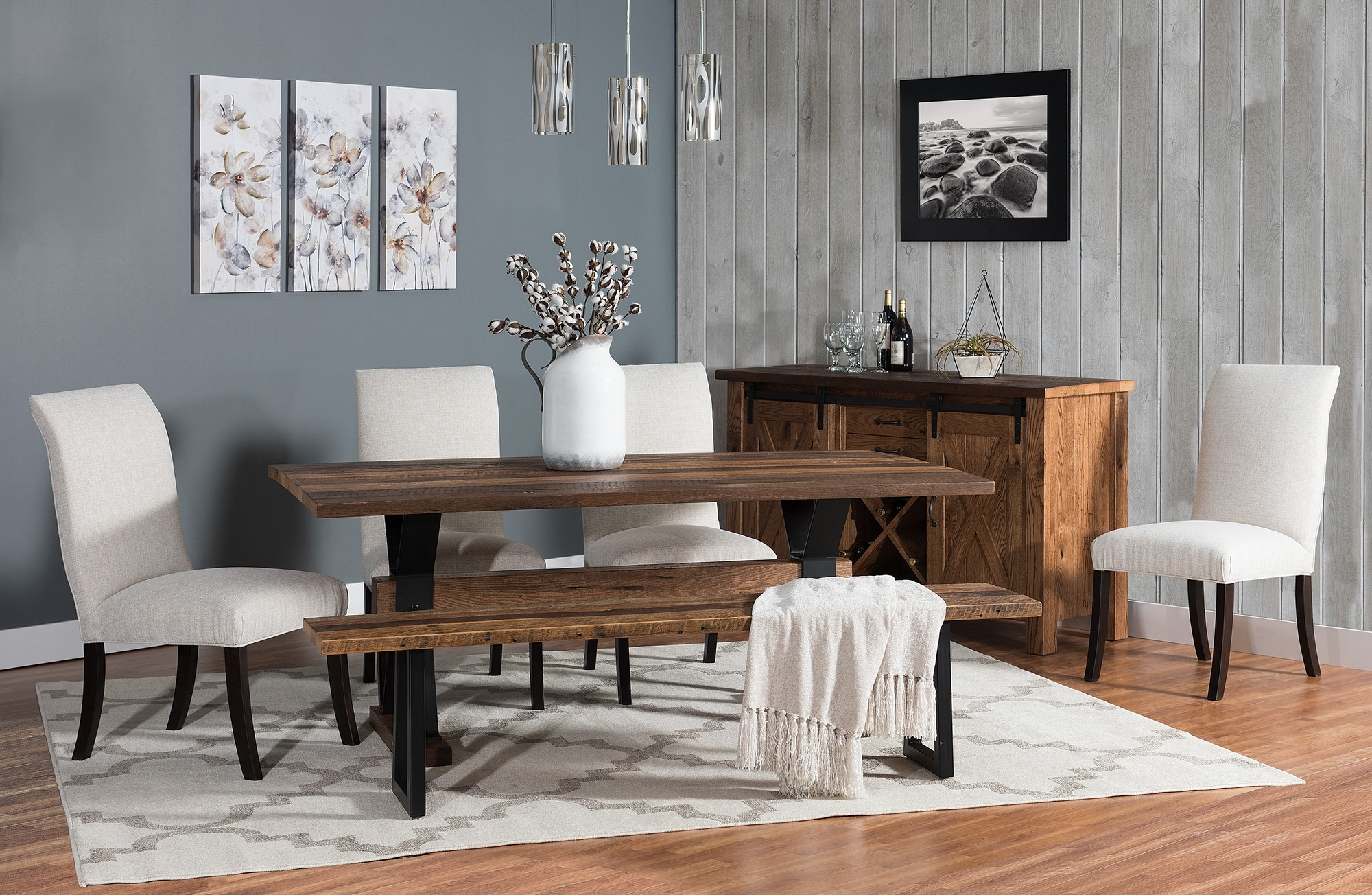 Weaver Ii Dining Tables Within 2017 Barnloft Trestle Dining Group – Weaver Furniture Sales (View 22 of 25)