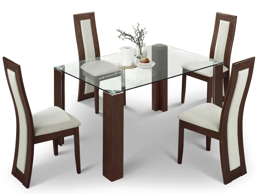 Well Known 4 Seat Dining Tables Pertaining To Selecting Designer Dining Table And Chair Set – Blogbeen (View 23 of 25)