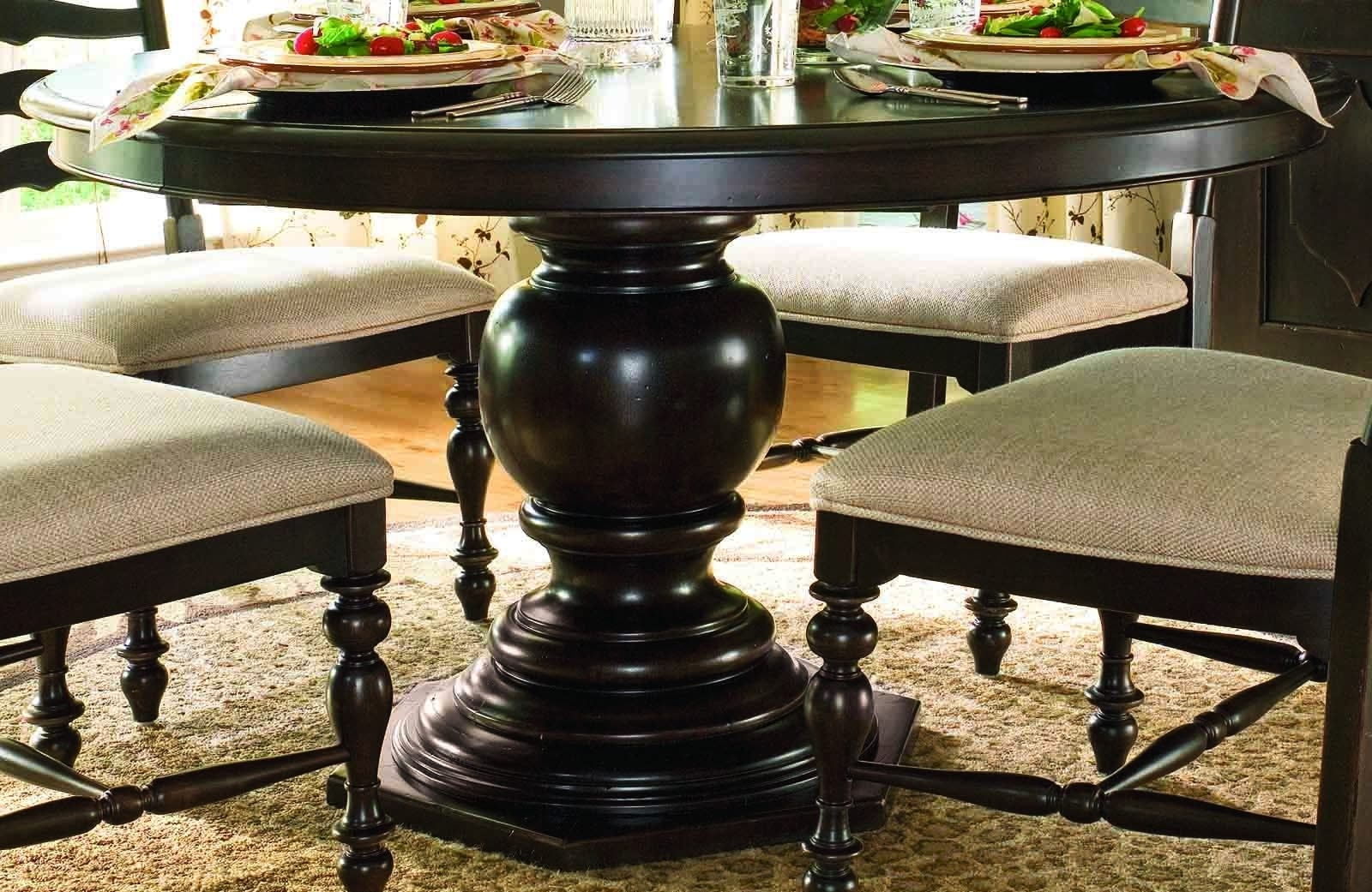 Well Known 54 Round Dining Tables In Dining Rooms Outlet Intended For Dark Round Dining Tables (View 22 of 25)