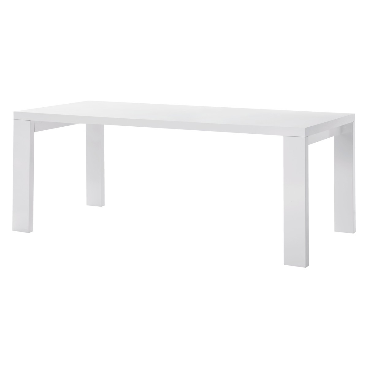 Well Known 8 Seater White Dining Tables Intended For Asper 8 Seater White High Gloss Dining Table (View 5 of 25)