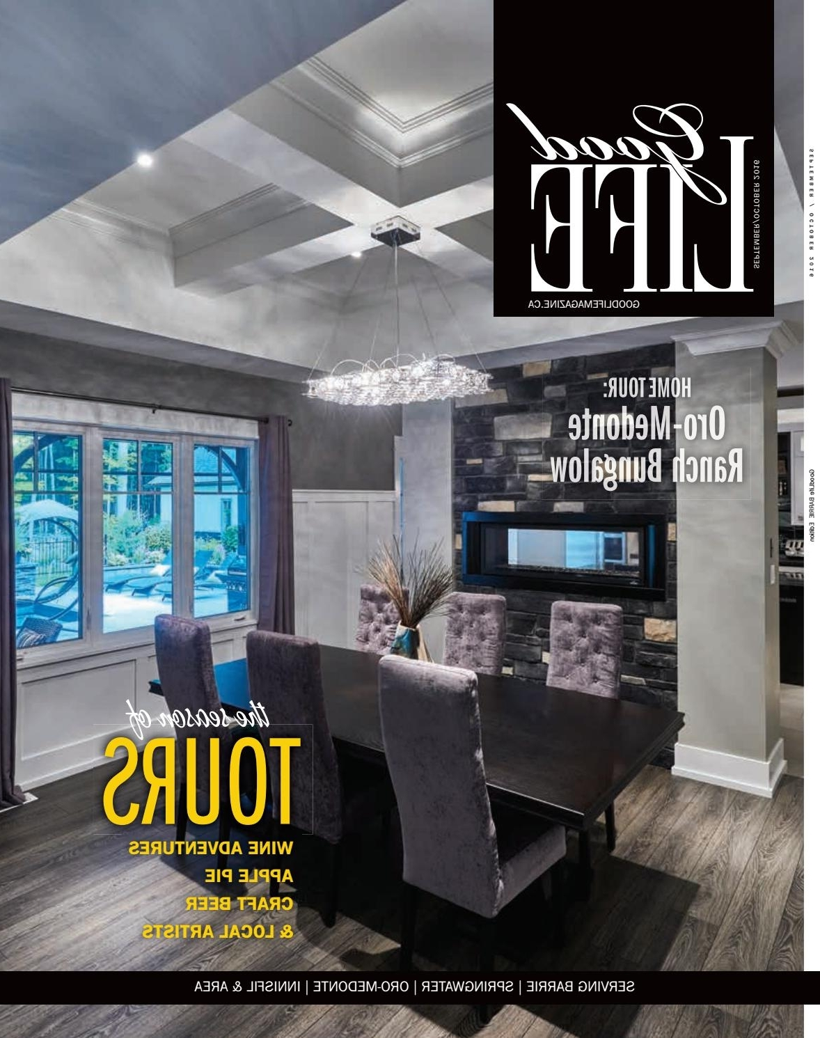 Well Known Bale Rustic Grey 6 Piece Dining Sets With Pearson Grey Side Chairs Inside Goodlife Barrie September/october 2016Goodlife Magazine – Simcoe (View 25 of 25)