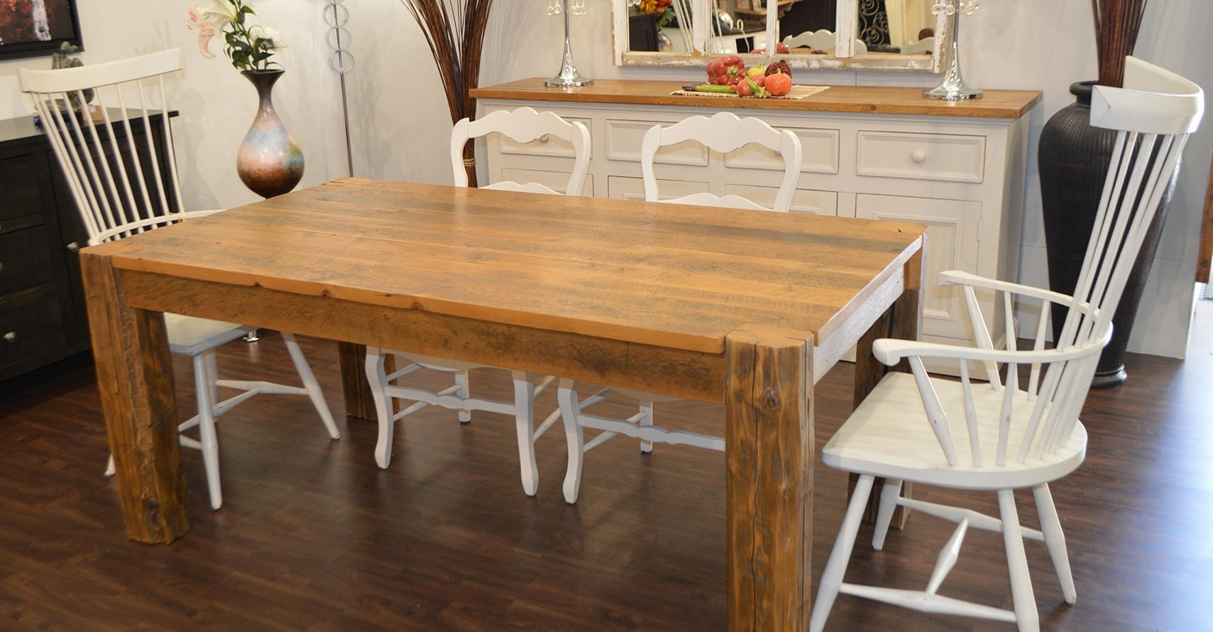 Well Known Bale Rustic Grey 7 Piece Dining Sets With Pearson White Side Chairs Within Cottage Country Connection – Peterborough County & The Kawartha Lakes (View 7 of 25)