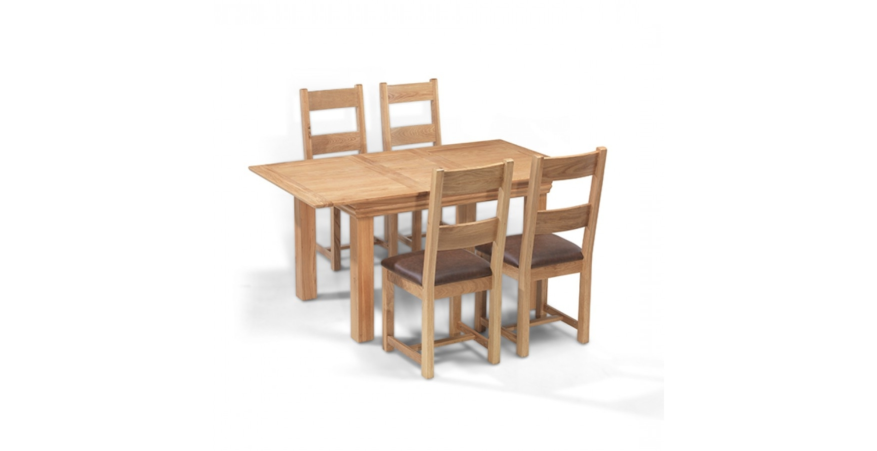 Well Known Breton Oak Cm Extending Din Extending Dining Table And Chairs Uk Inside Extendable Dining Tables And 4 Chairs (View 23 of 25)