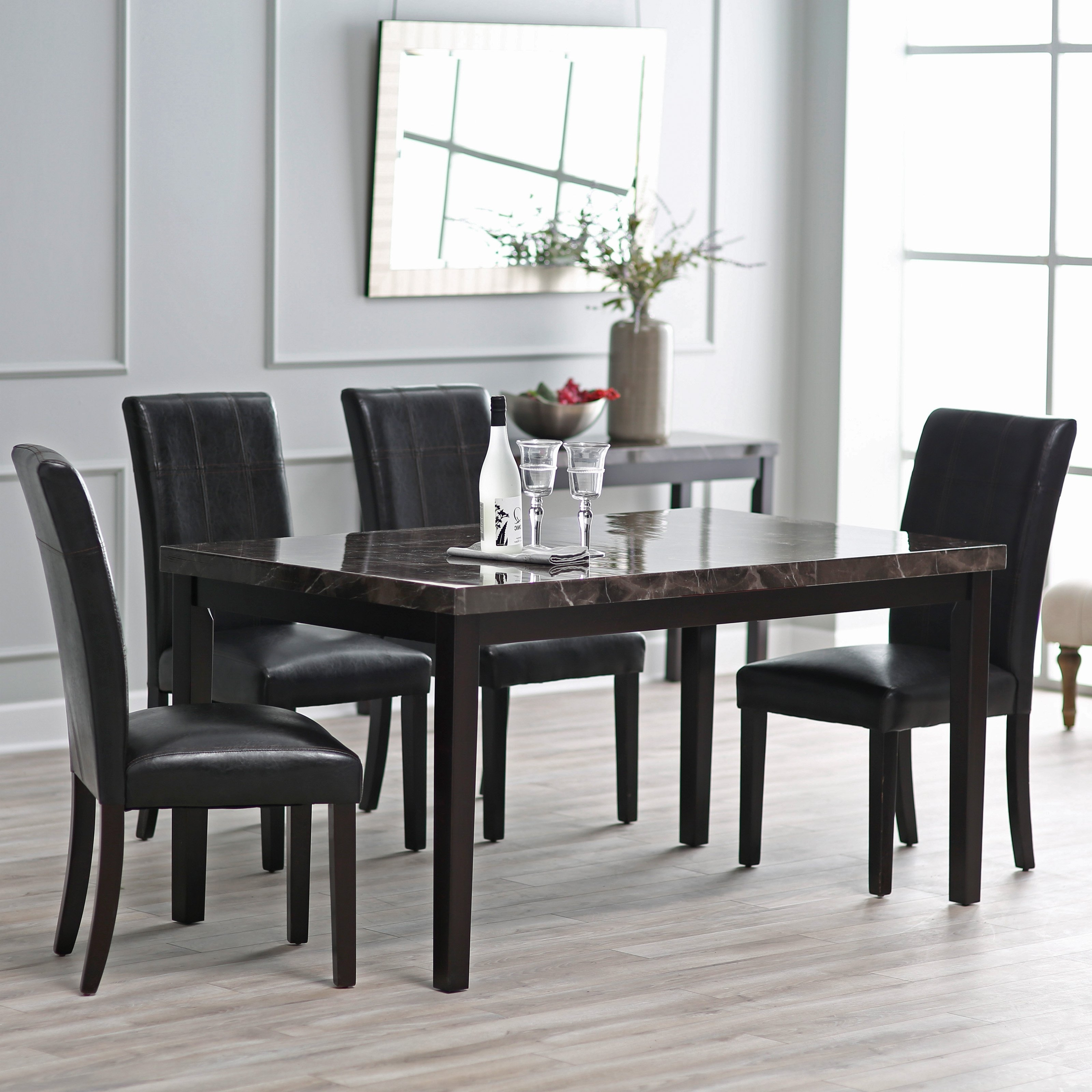 Well Known Cheap Dining Room Chairs In Finley Home Milano Dining Table (View 23 of 25)