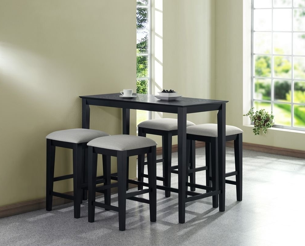Well Known Cheap Dining Tables Sets Regarding Make Your Dining Room Stylish With Dining Tables For Small Spaces (View 17 of 25)