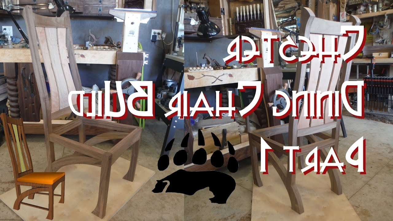 Well Known Chester Dining Chairs Throughout Chester Dining Chairs Build Part 1 – Youtube (View 22 of 25)