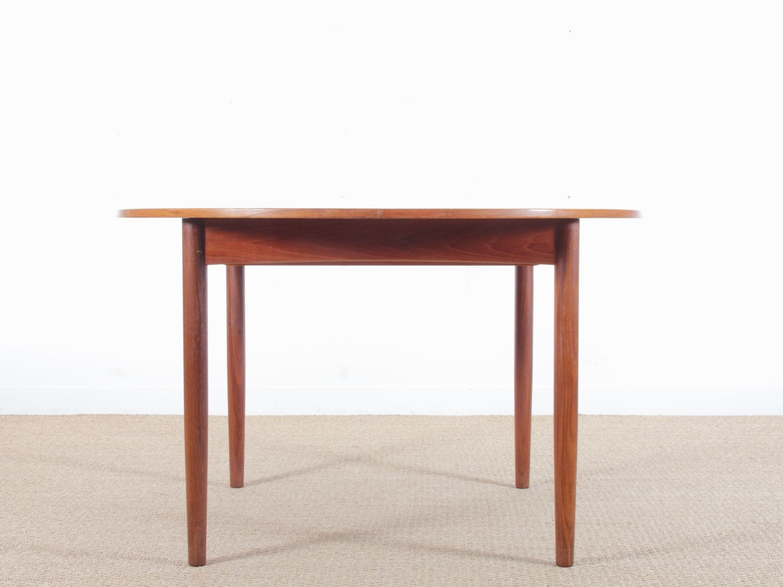 Well Known Circular Dining Tables With Regard To Vintage Circular Dining Table In Teak From Brande Møbelindustri For (View 24 of 25)